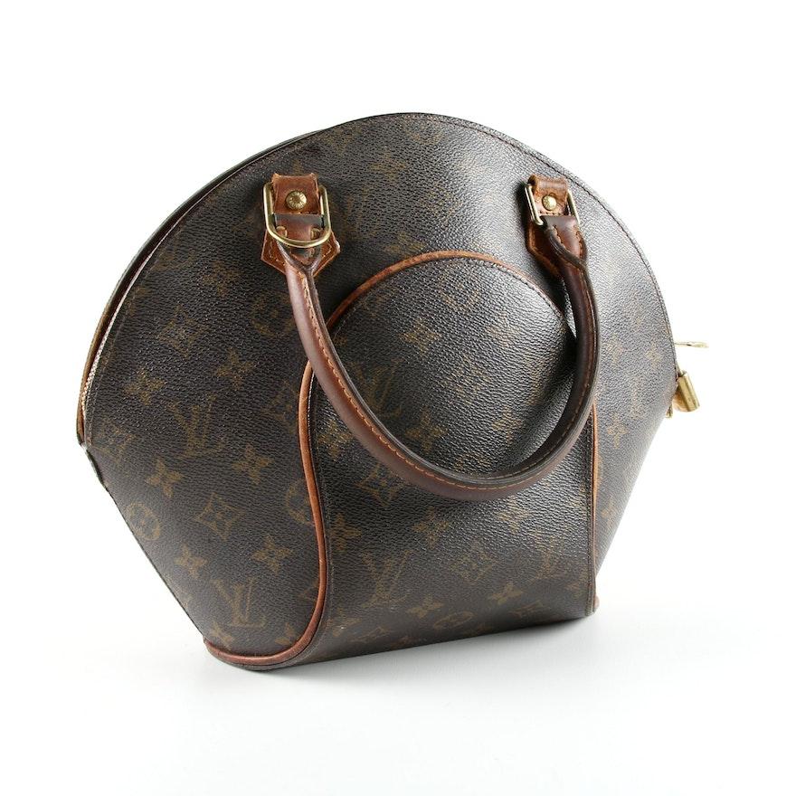 c79922ba9fa7 Louis Vuitton Monogram Ellipse Bag   EBTH
