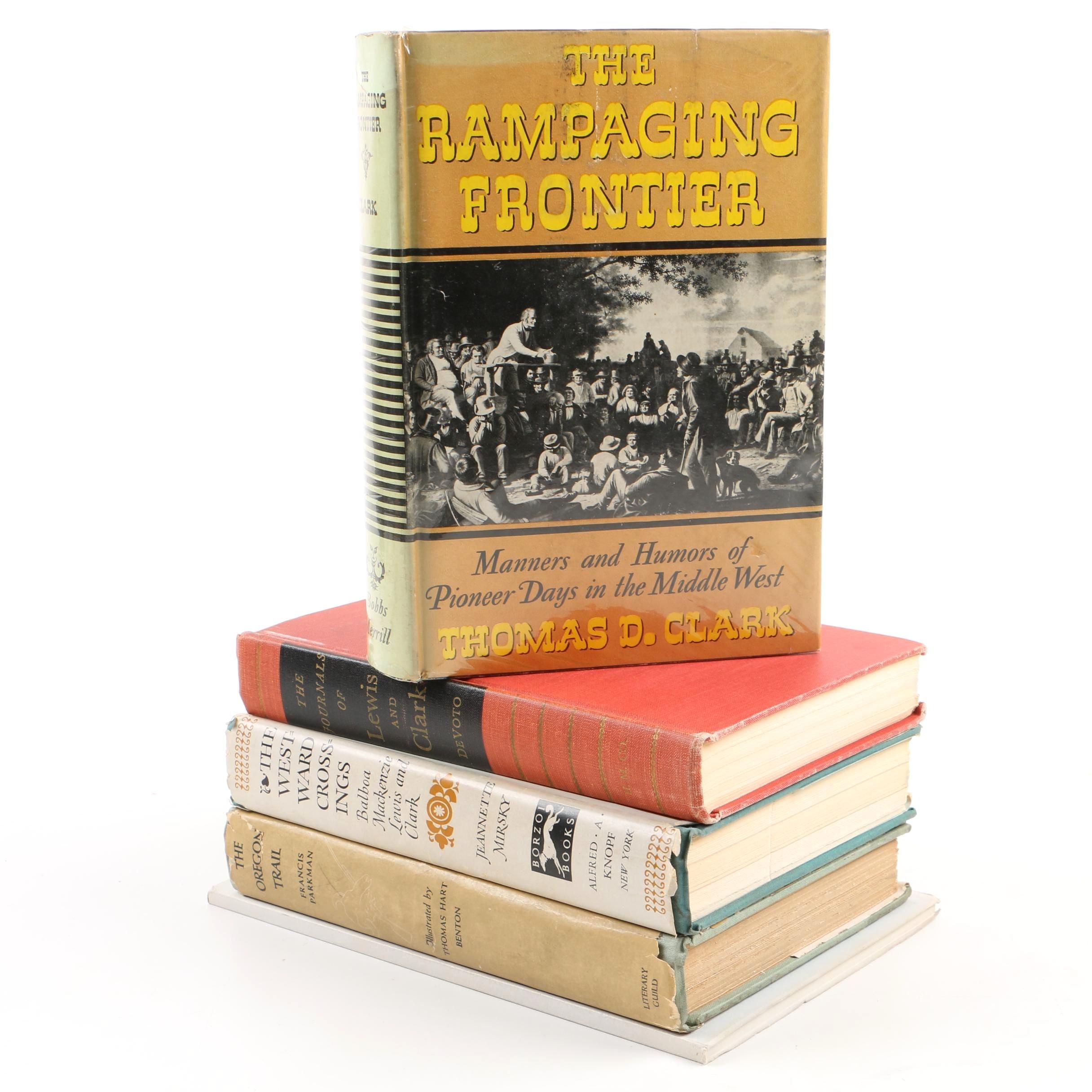 Vintage Books on Exploration and Westward Expansion