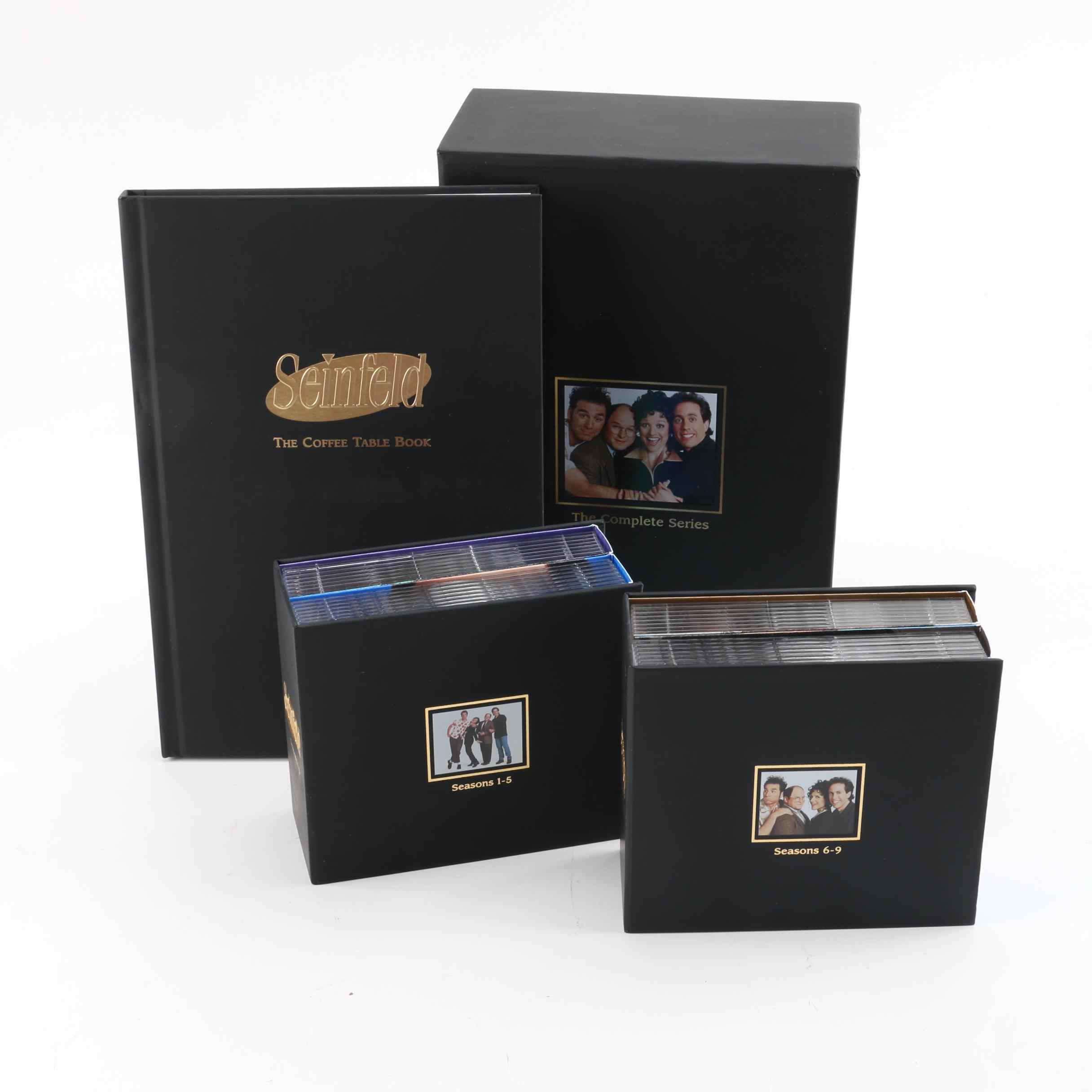 Seinfeld Complete DVD Box Set with The Coffee Table Book EBTH