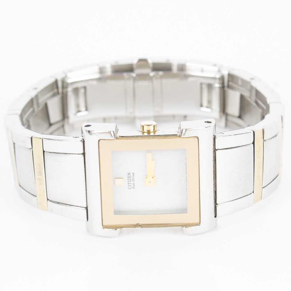 Citizen Eco-Drive Wristwatch With Mother Of Pearl Dial