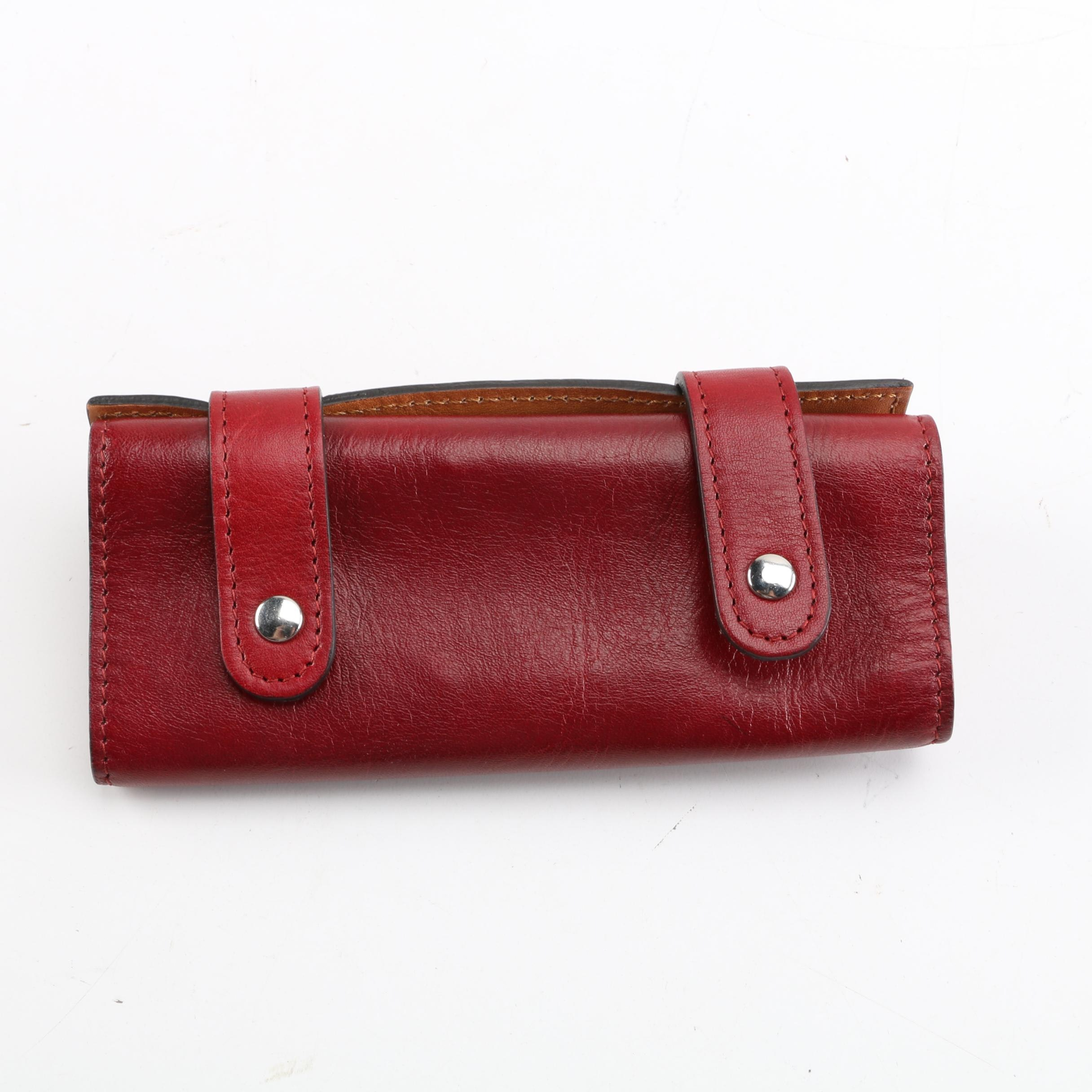 Old Angler Firenze Italian Leather Cigar Case