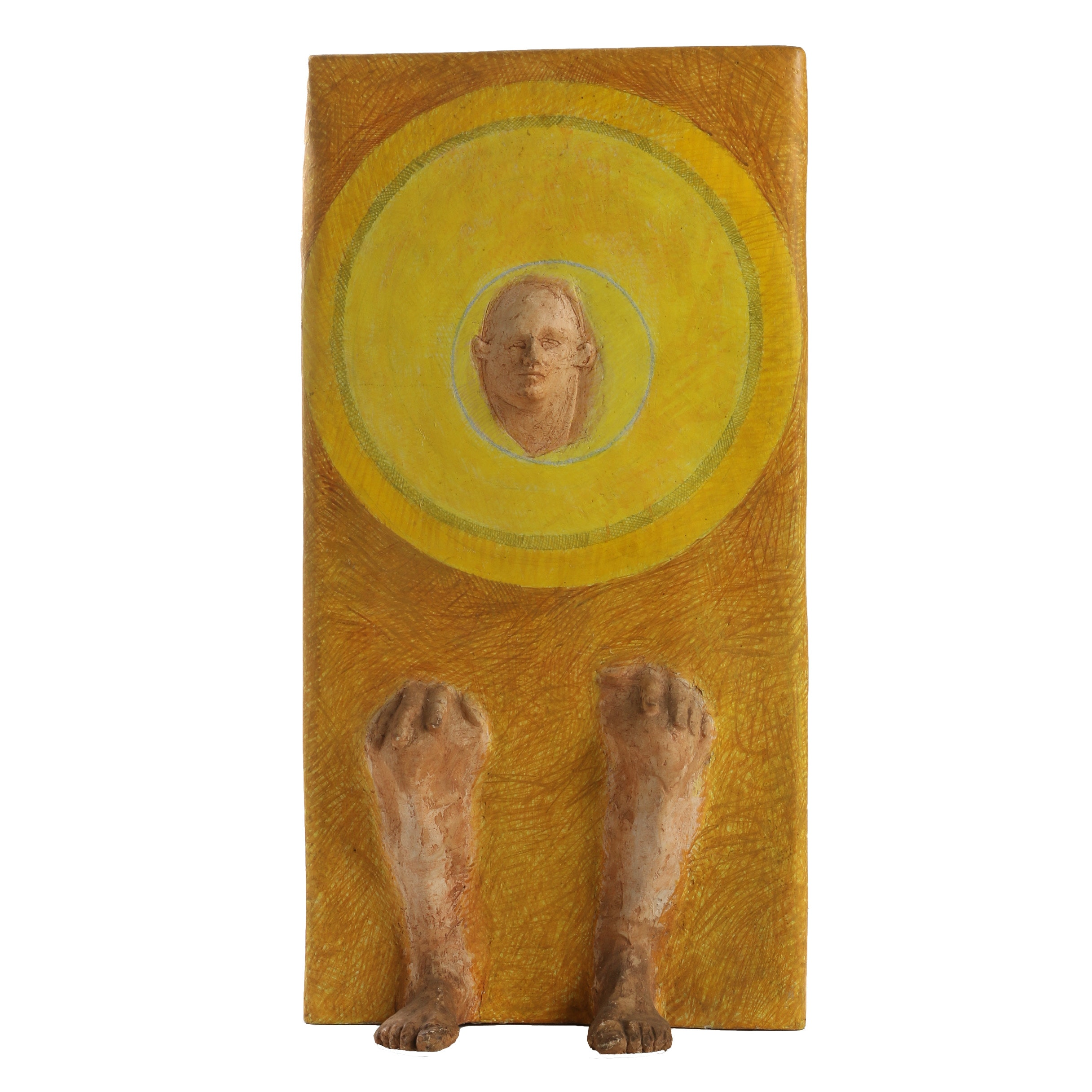 "John Tuska Fiberglass Sculpture ""Solar Chair"""