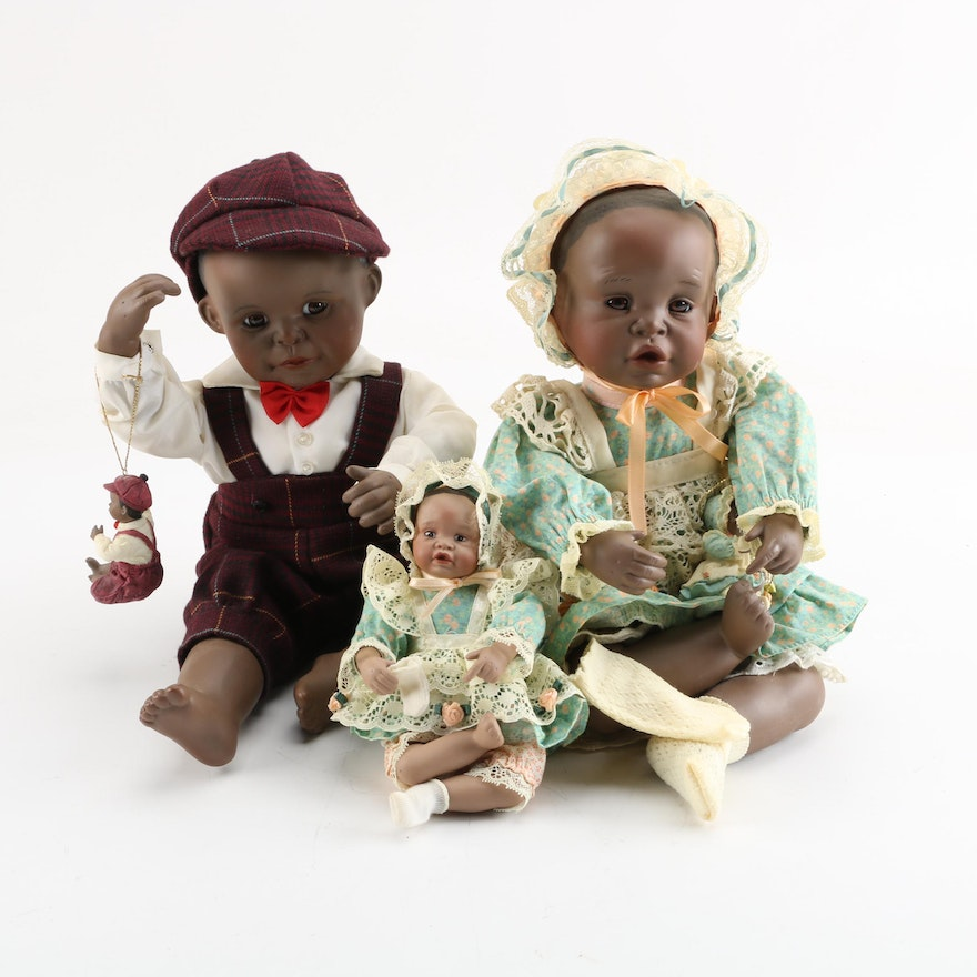 Yolanda Bello Signed Picture Perfect Babies Porcelain Dolls Ebth
