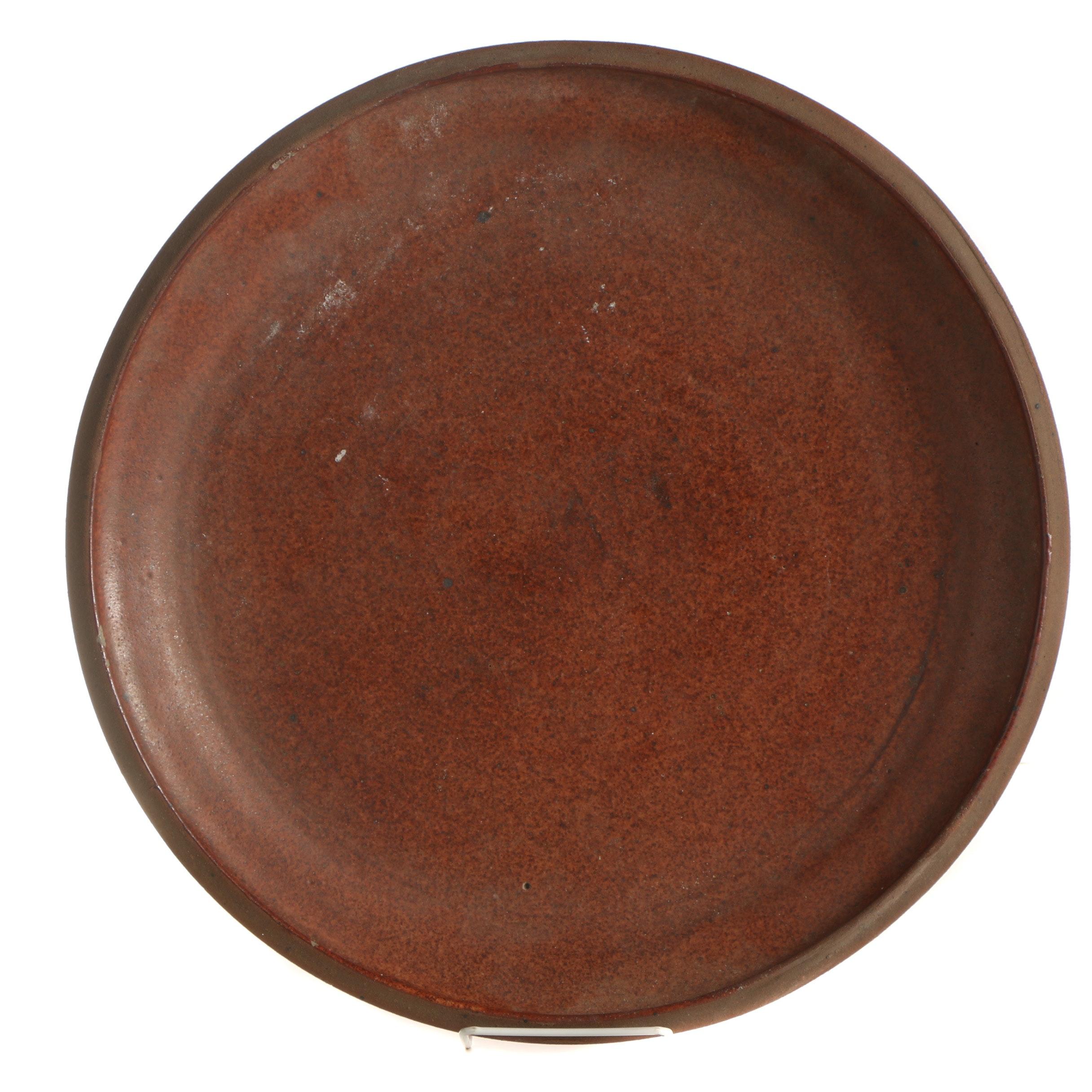 John Tuska Stoneware Plate