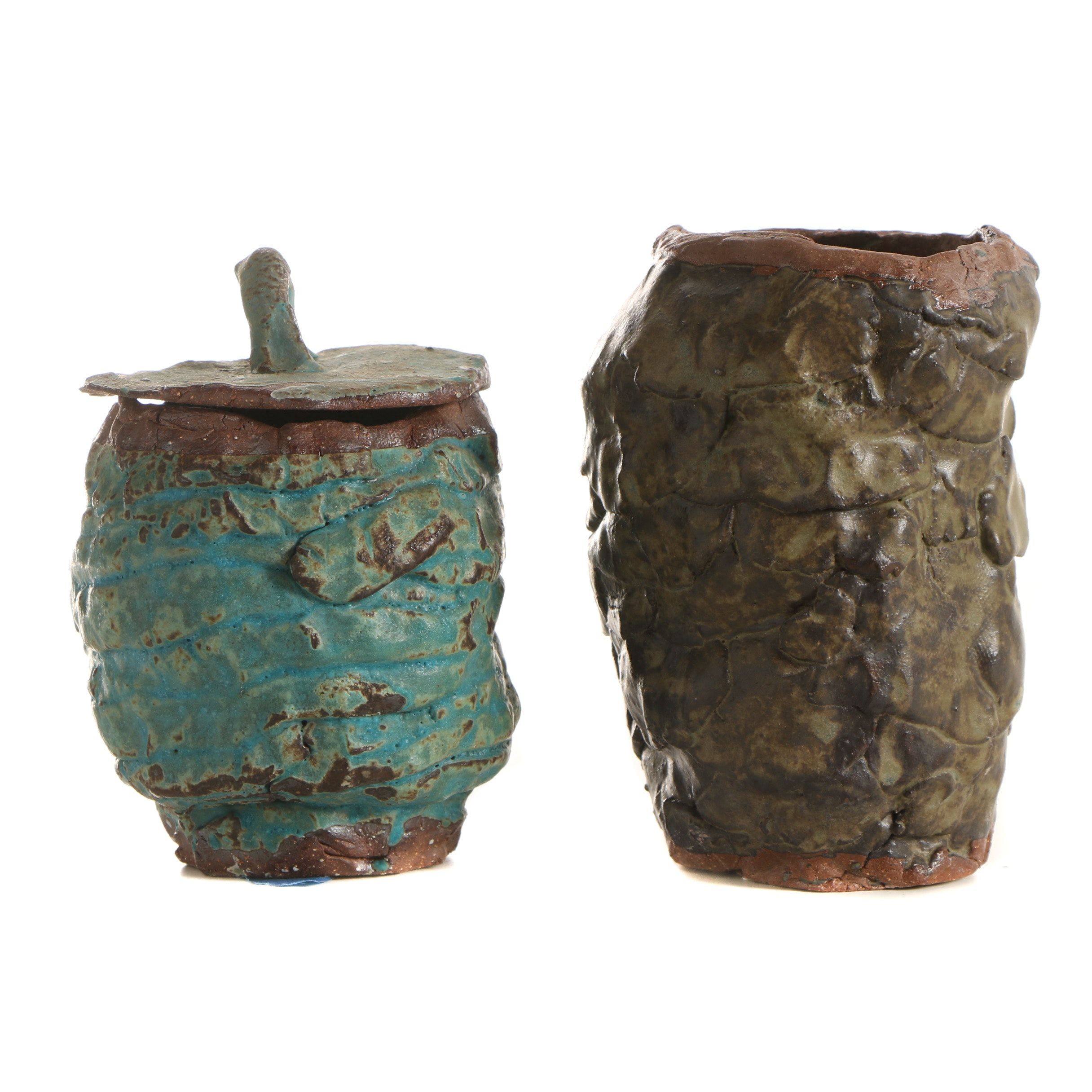 Stoneware Vessels Attributed to Seth Tuska