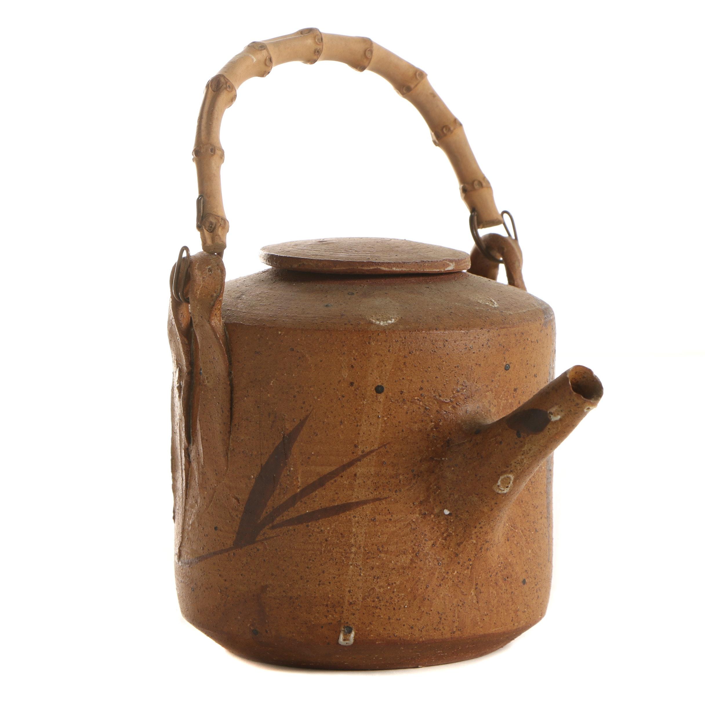 John Tuska Stoneware Teapot