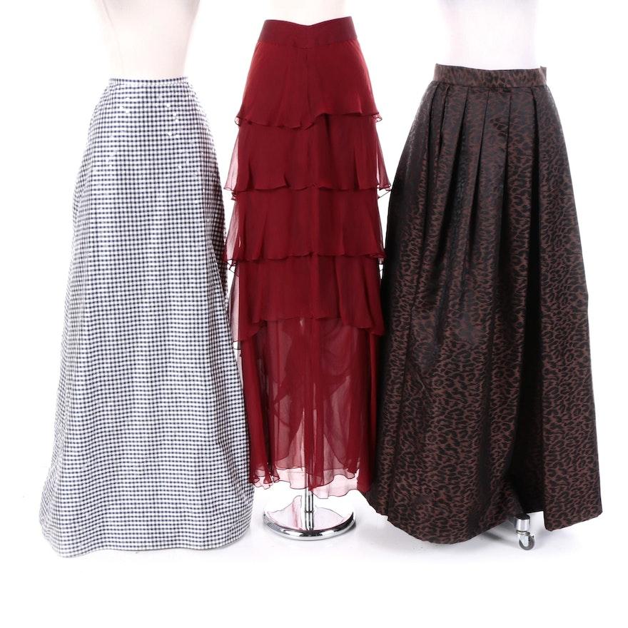 f250a34af4 Designer Evening Skirts by Oleg Cassini