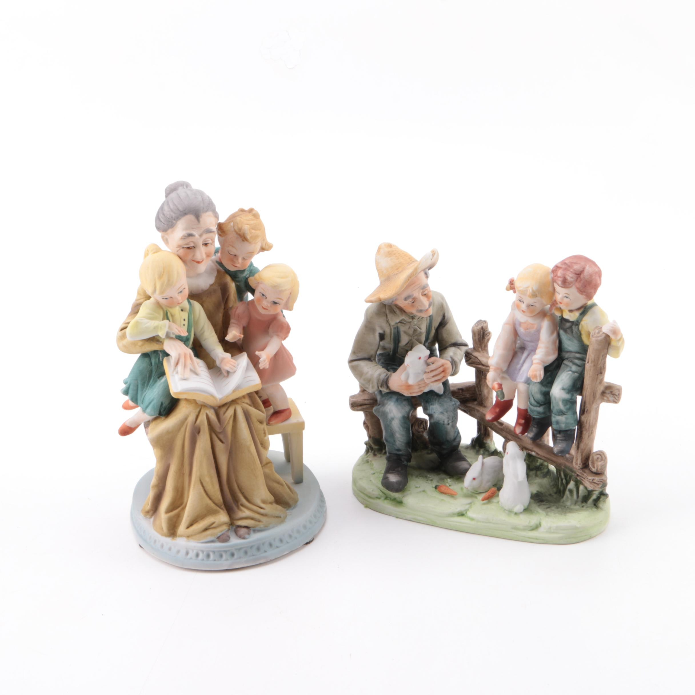 Figurines Depicting the Interacting of Generations