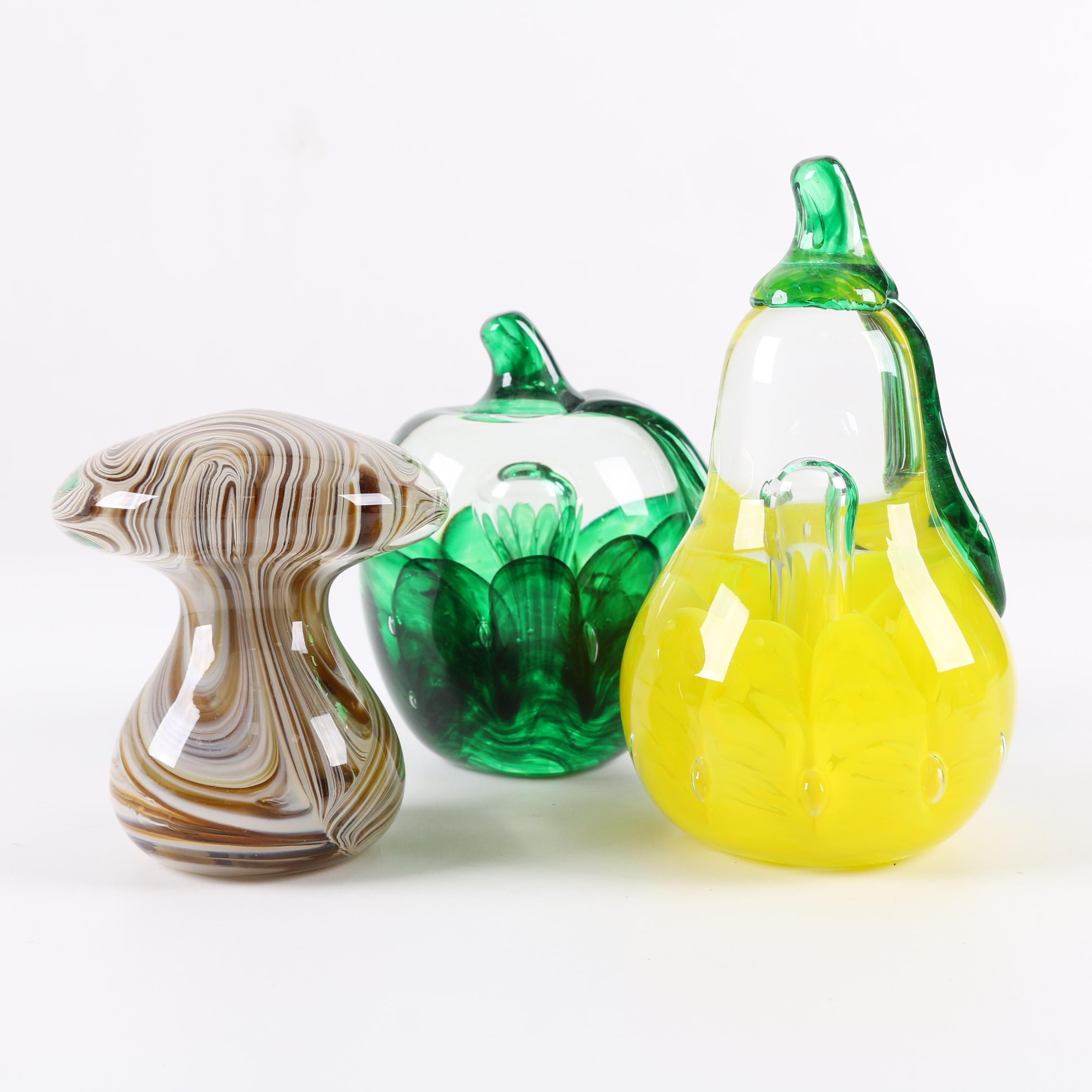 L. H. Bayley Art Glass Paperweights