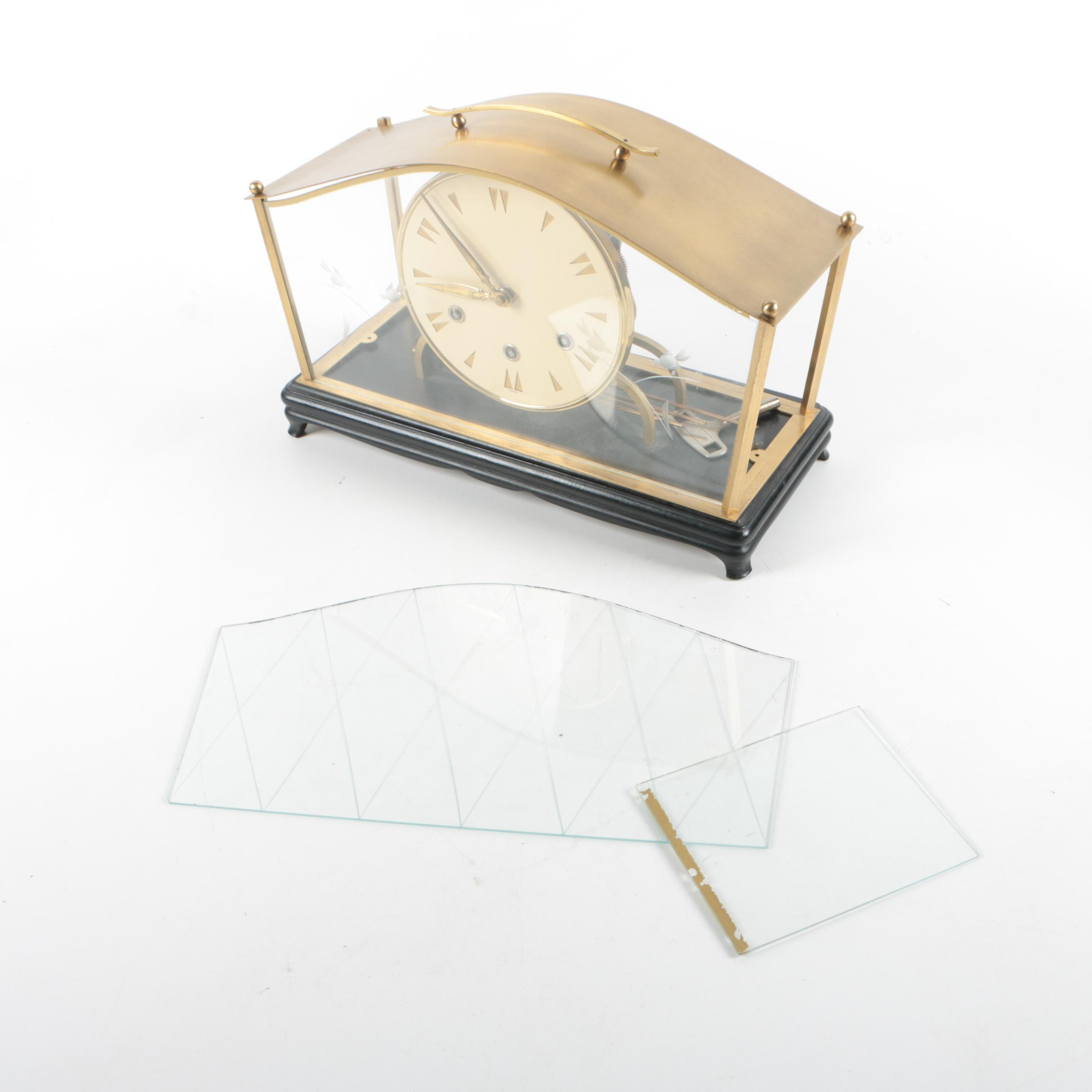 Contemporary Style German Mantle Clock