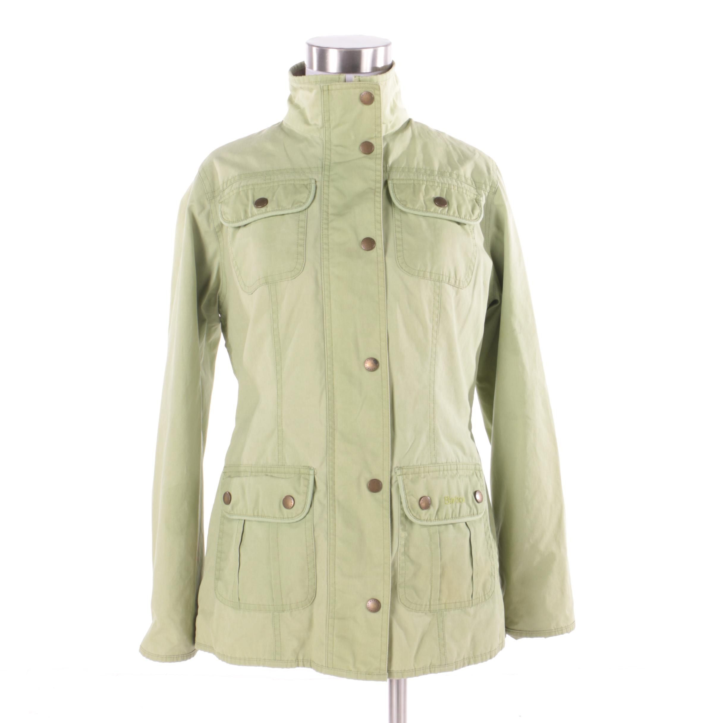 Women's Barbour Waterproof Utility Lumi Jacket