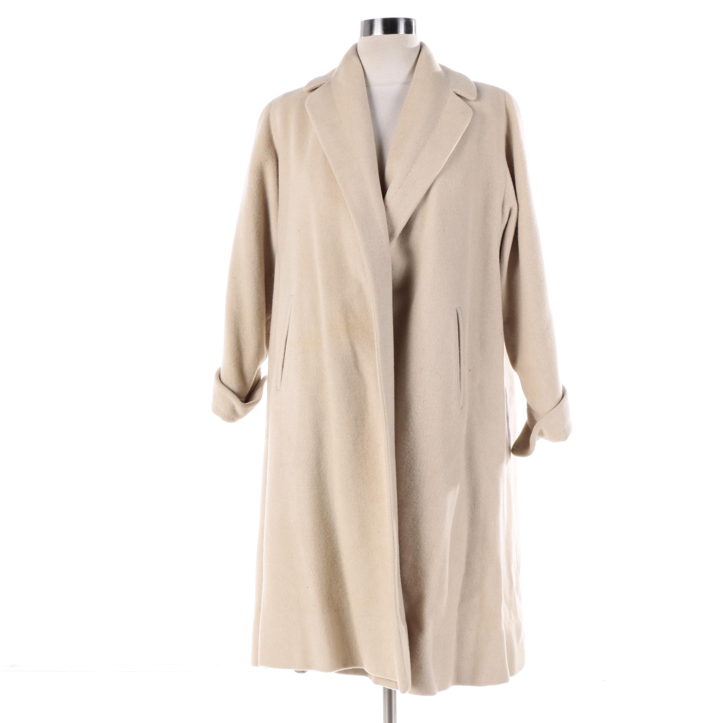 Women's Vintage Lytton's Cashmere Topper Coat
