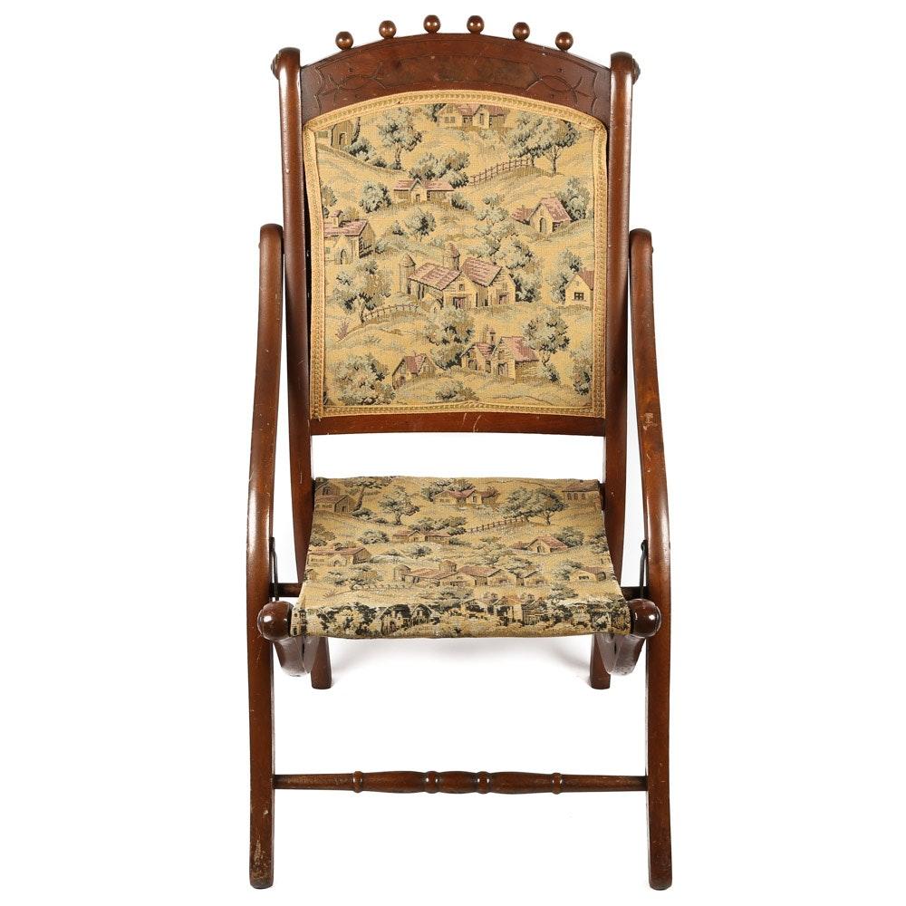 Antique Eastlake Folding Chair ...