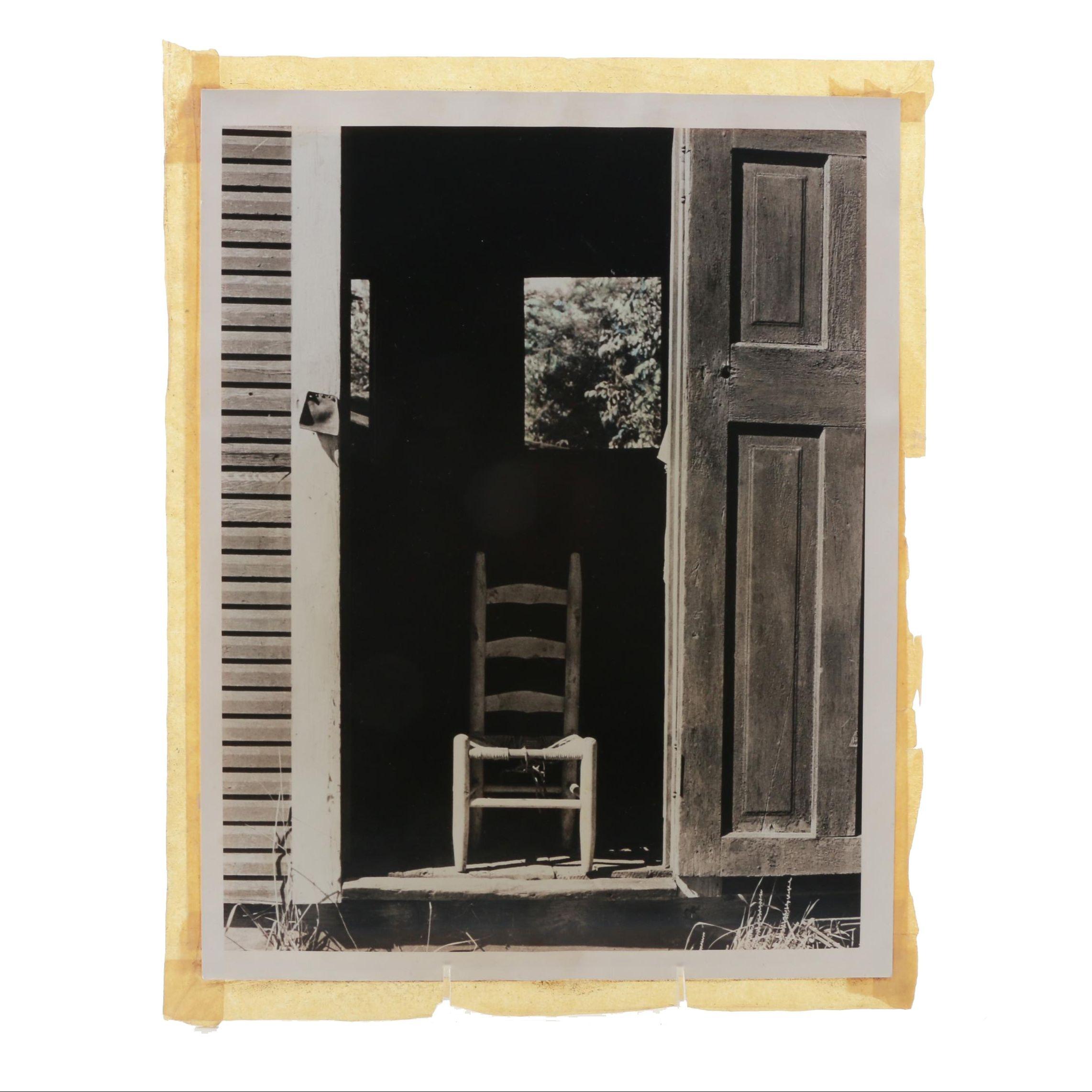 Circa 1950s Black and White Photograph