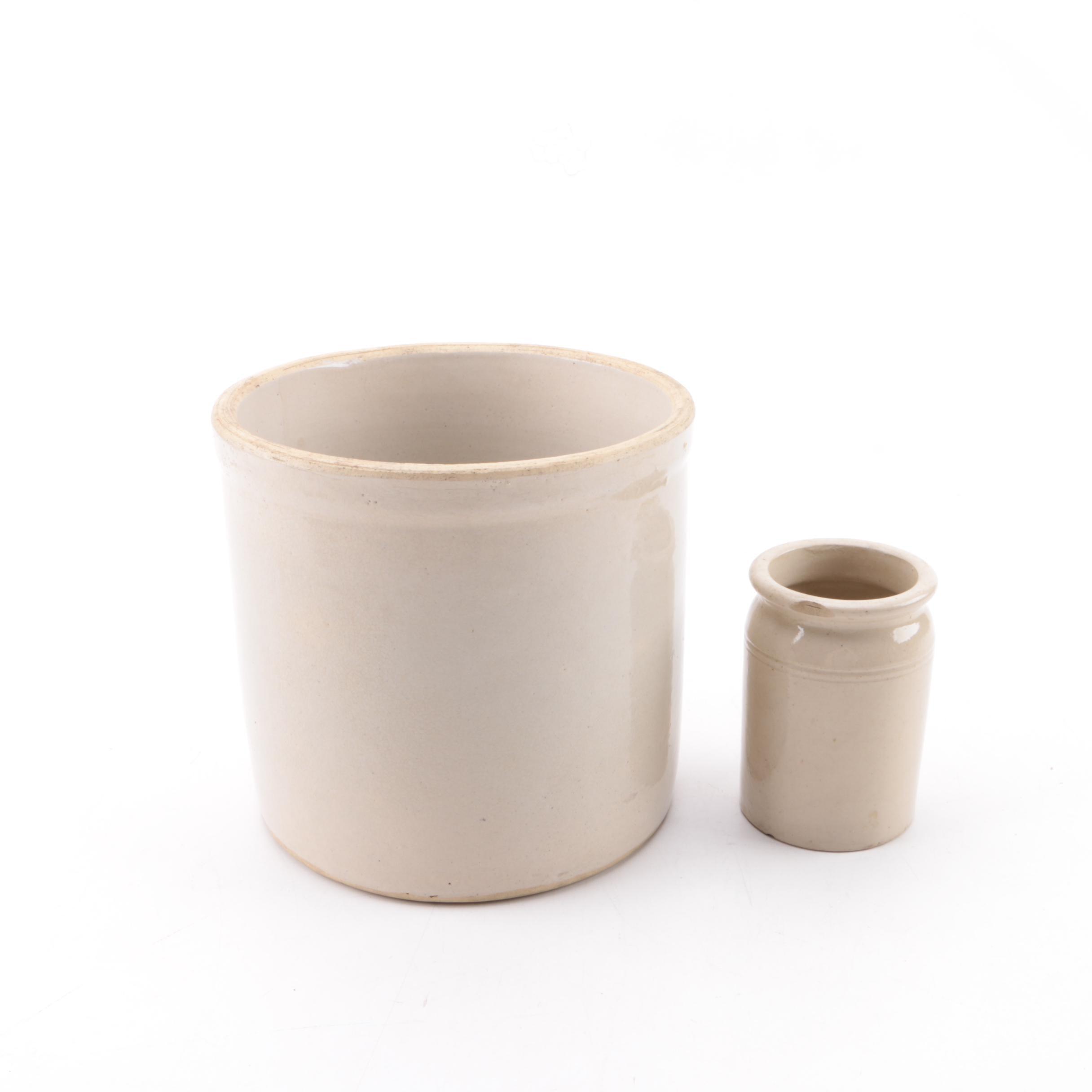 Vintage Stoneware Crocks