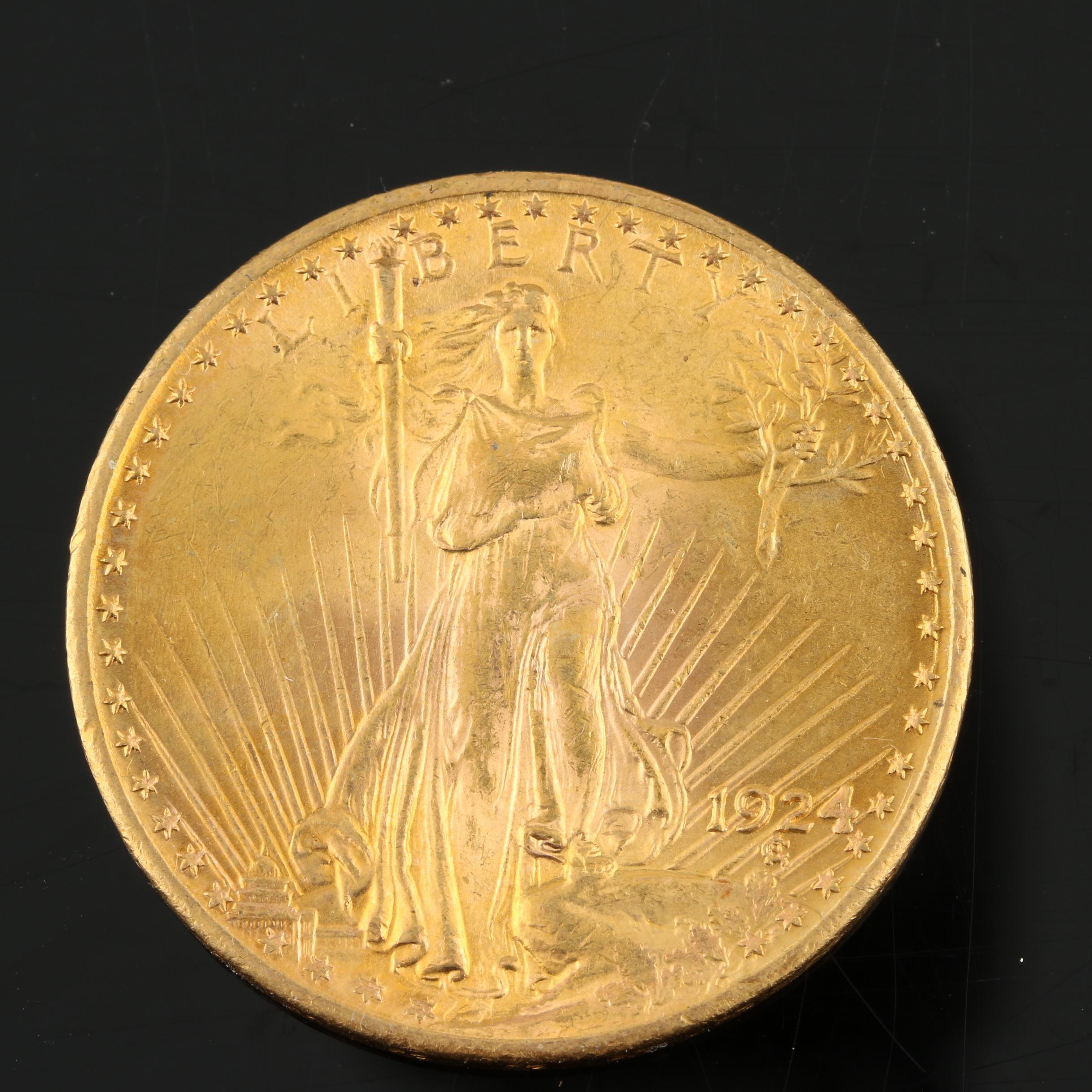 1924 Saint-Gaudens $20 Gold Double Eagle