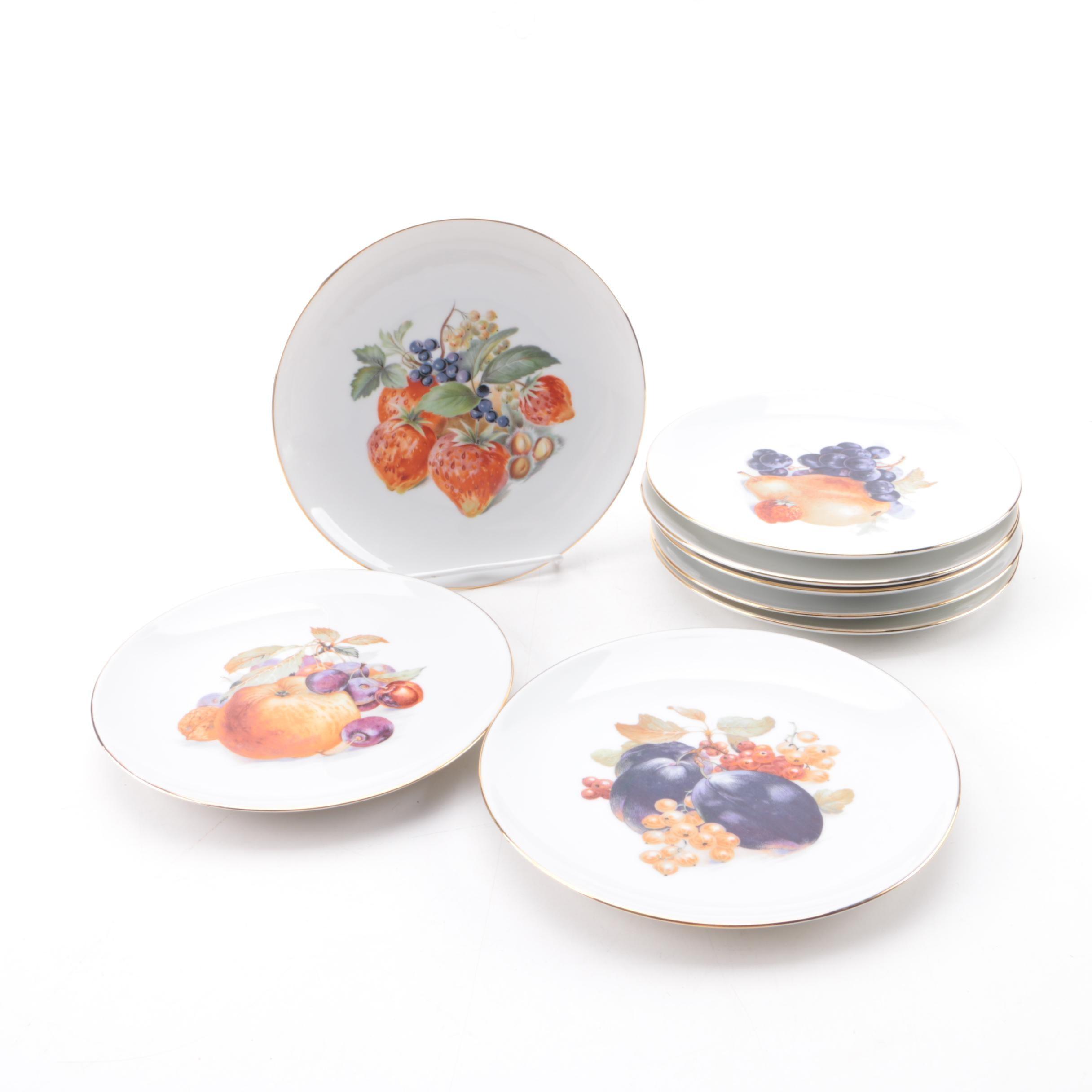 Vintage Winterling Porcelain Dessert Plates