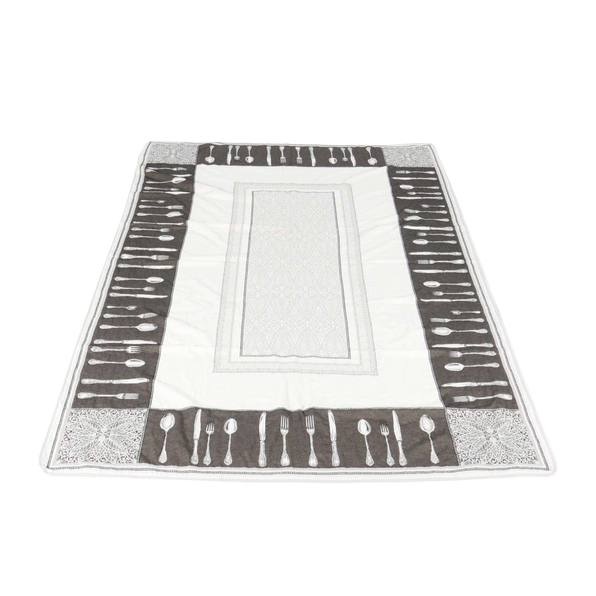 Flatware Themed Tablecloth
