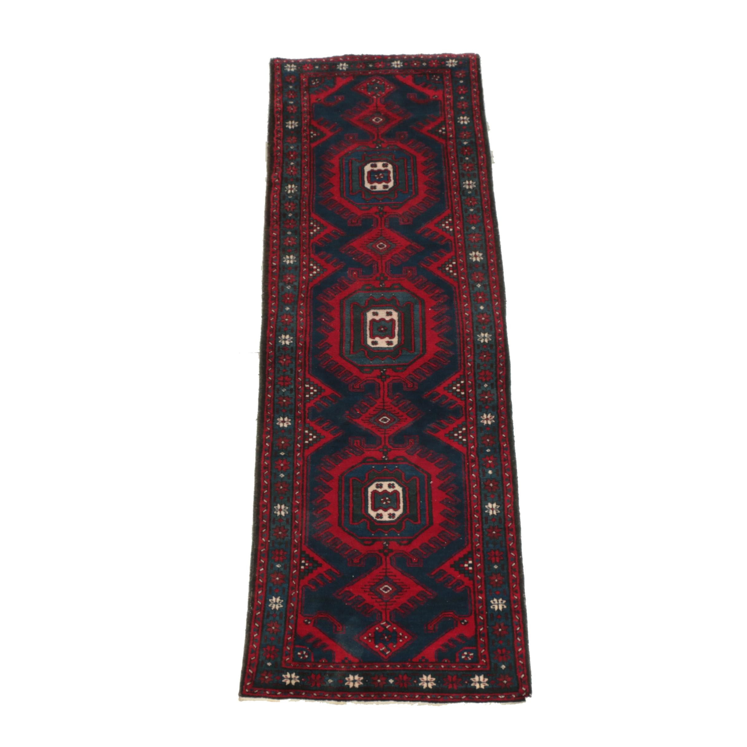 Hand-Knotted Persian Viss Carpet Runner