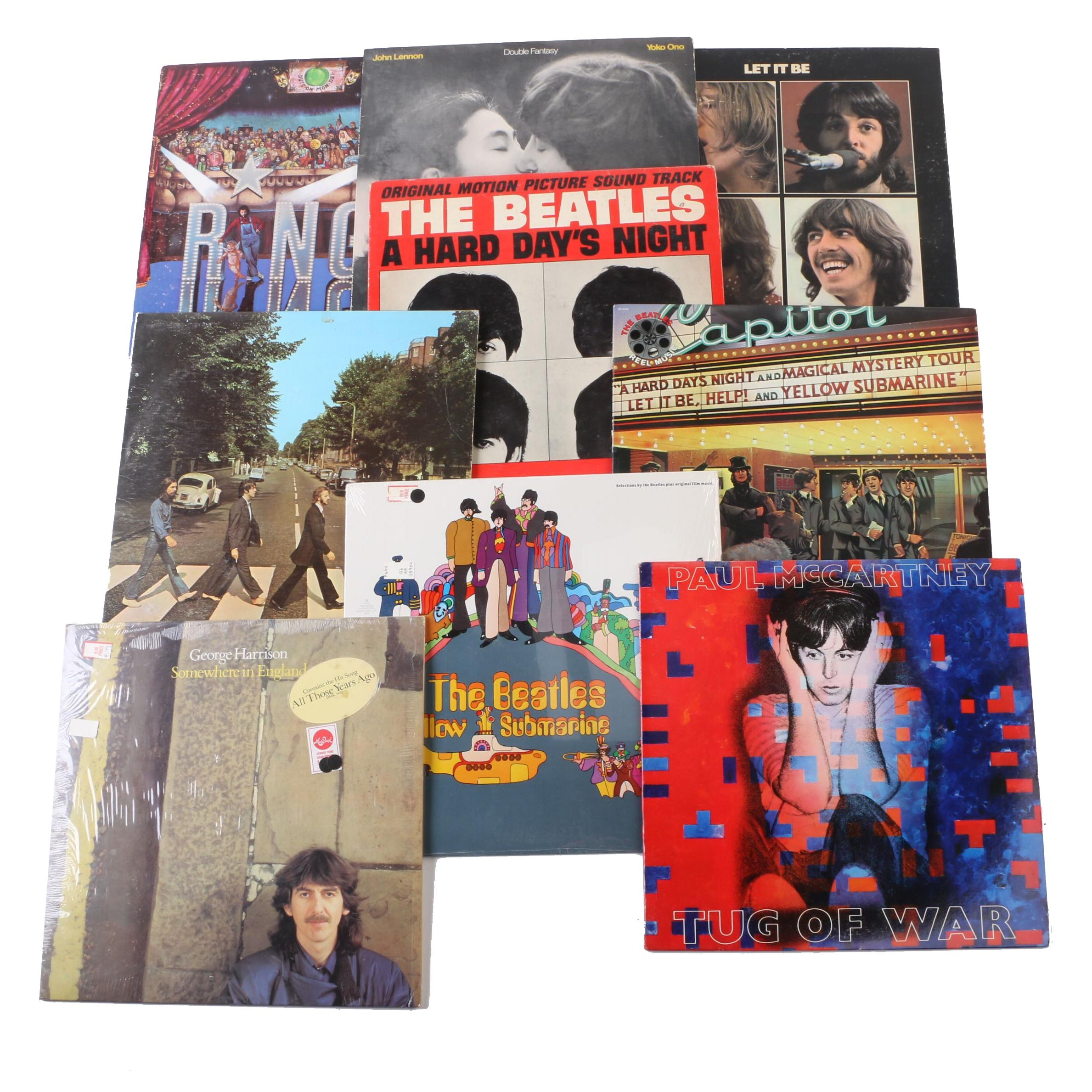 """Abbey Road""and Other Beatles and Band Member Records"
