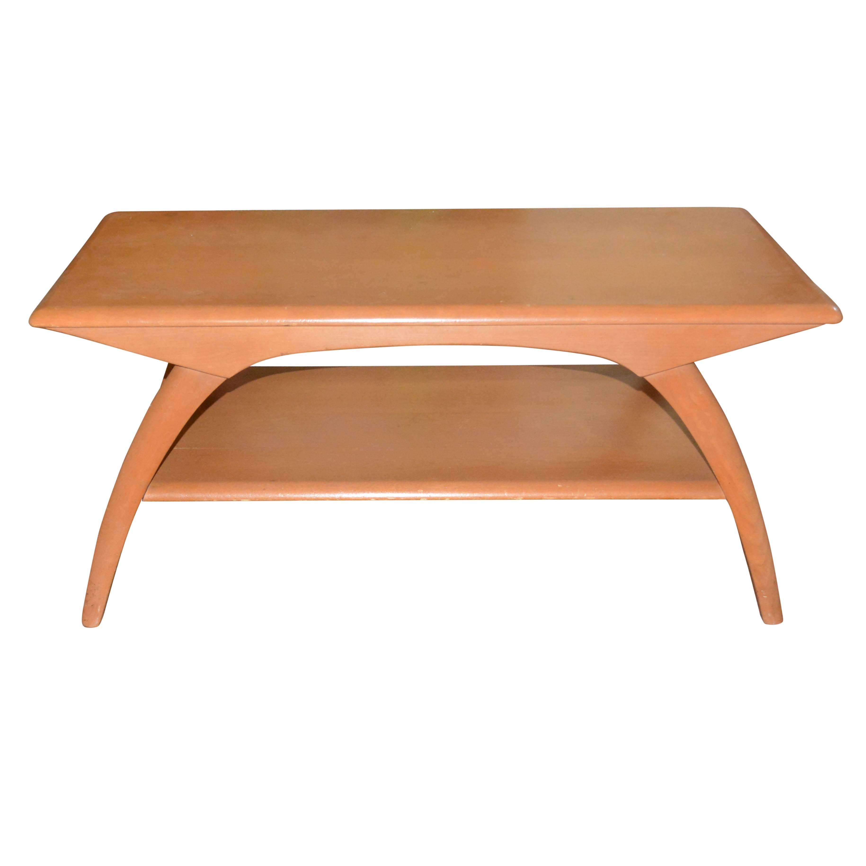 Mid Century Modern Coffee Table by Heywood-Wakefield