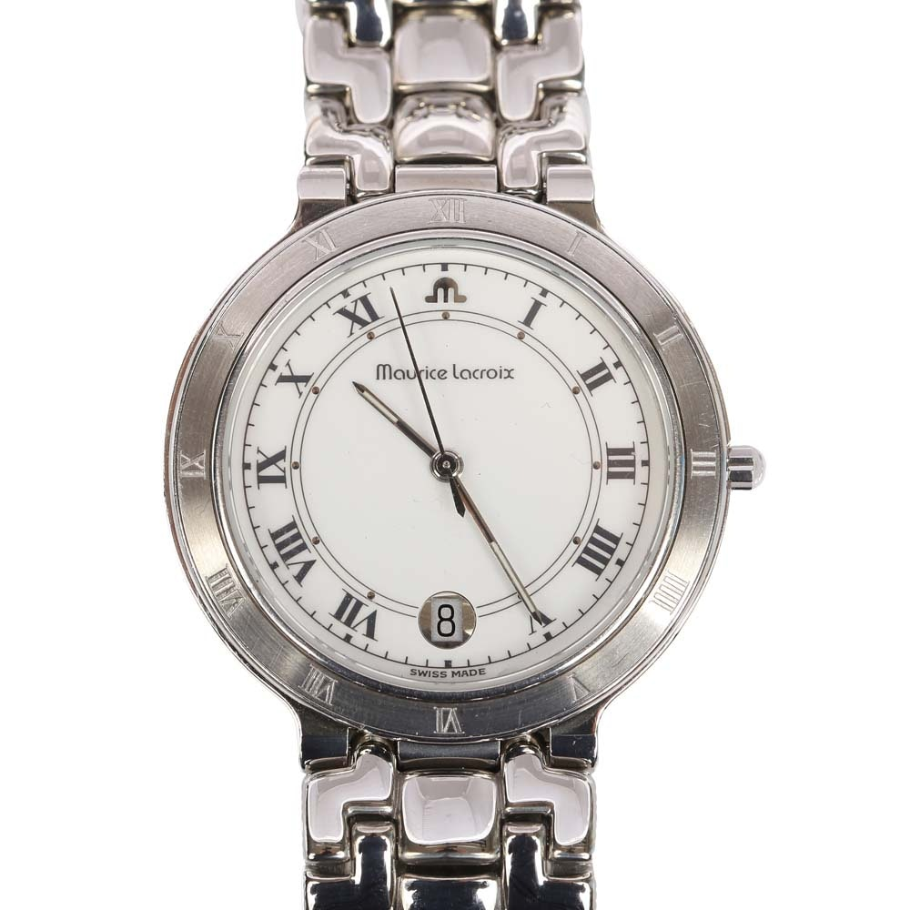 Maurice Lacroix Stainless Steel Wristwatch