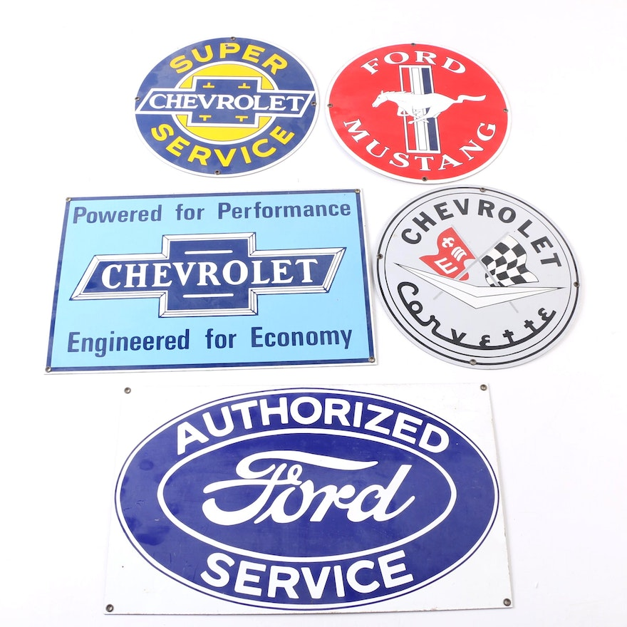 Chevrolet And Ford Motor Company Signs Ebth