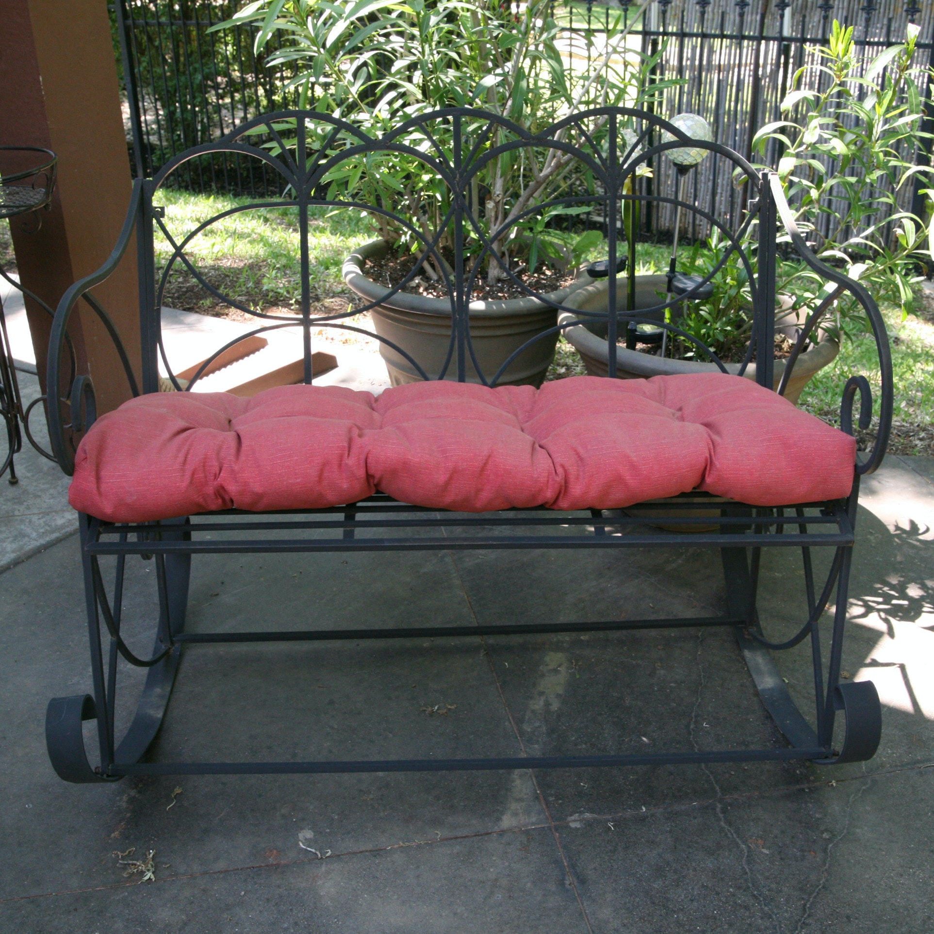 Patio Loveseat Rocker