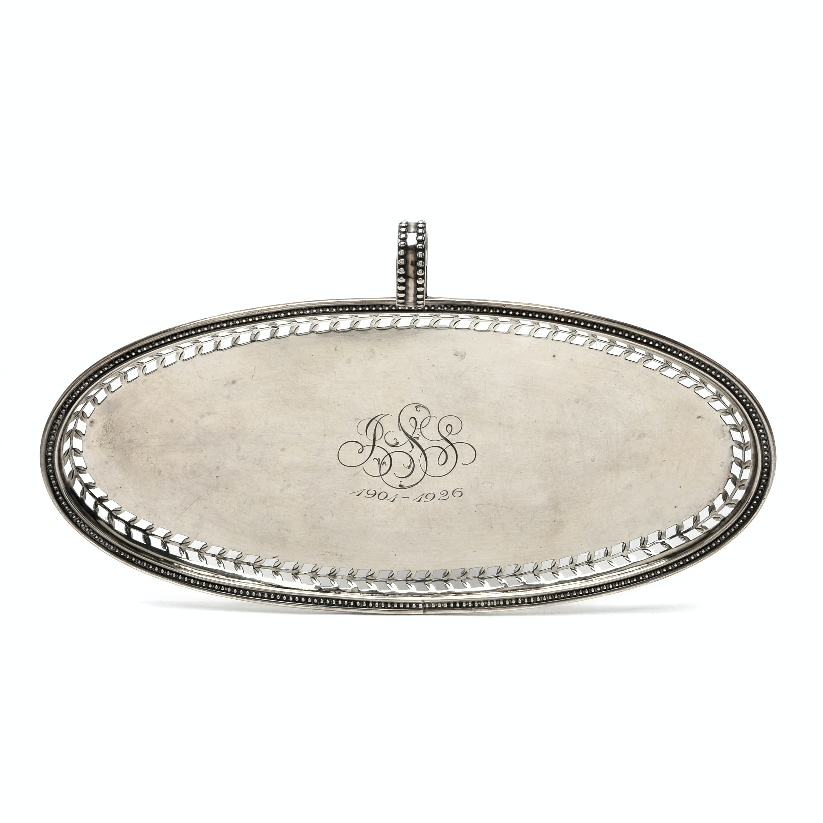 Early 20th Century Sterling Silver Valet Tray