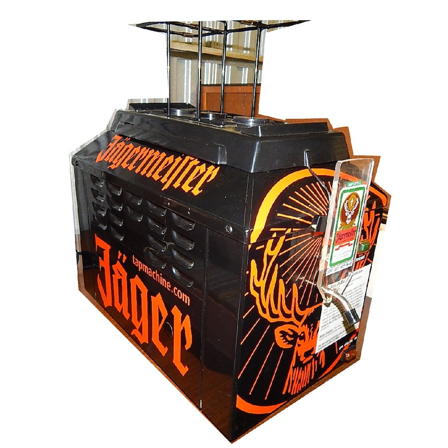 Jagermeister Beverage Cooler Dispenser Ebth