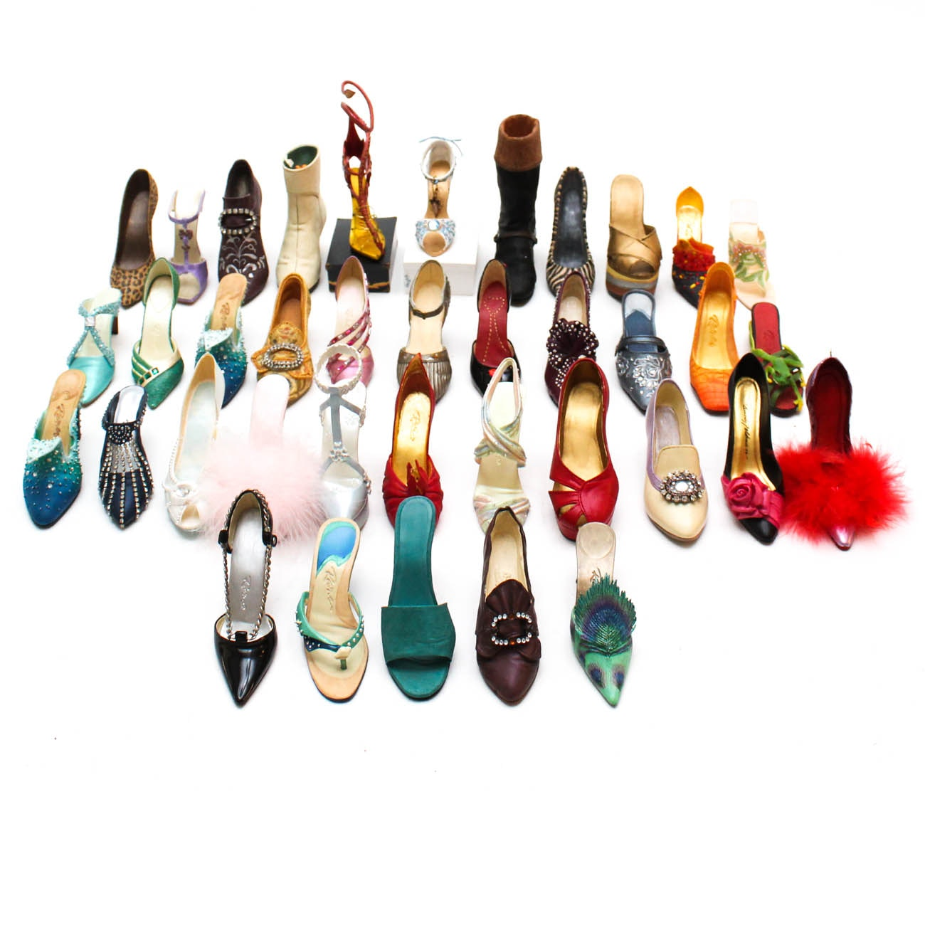 "Collection of ""Just the Right Shoe"" Figurines"