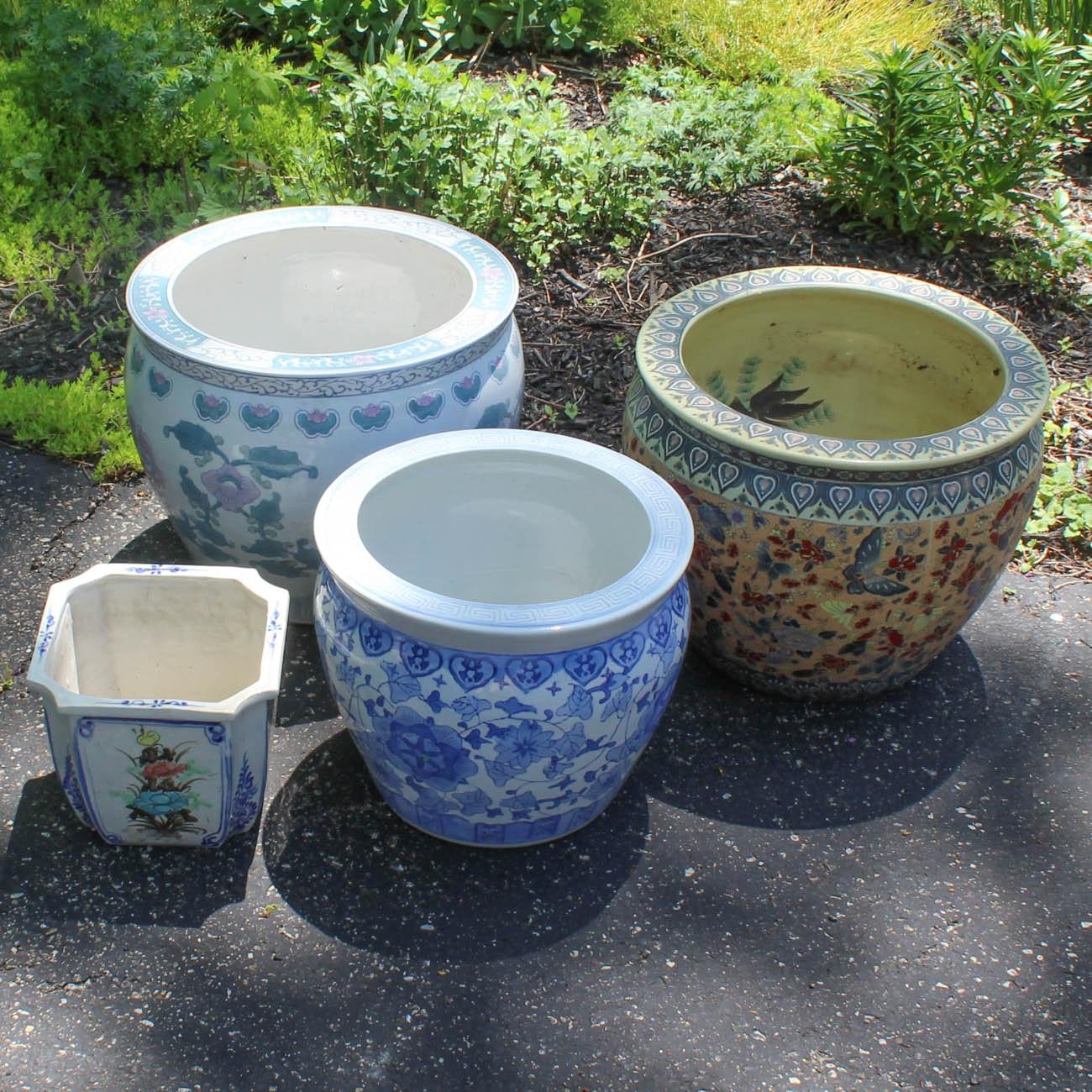 Chinese Ceramic Planters