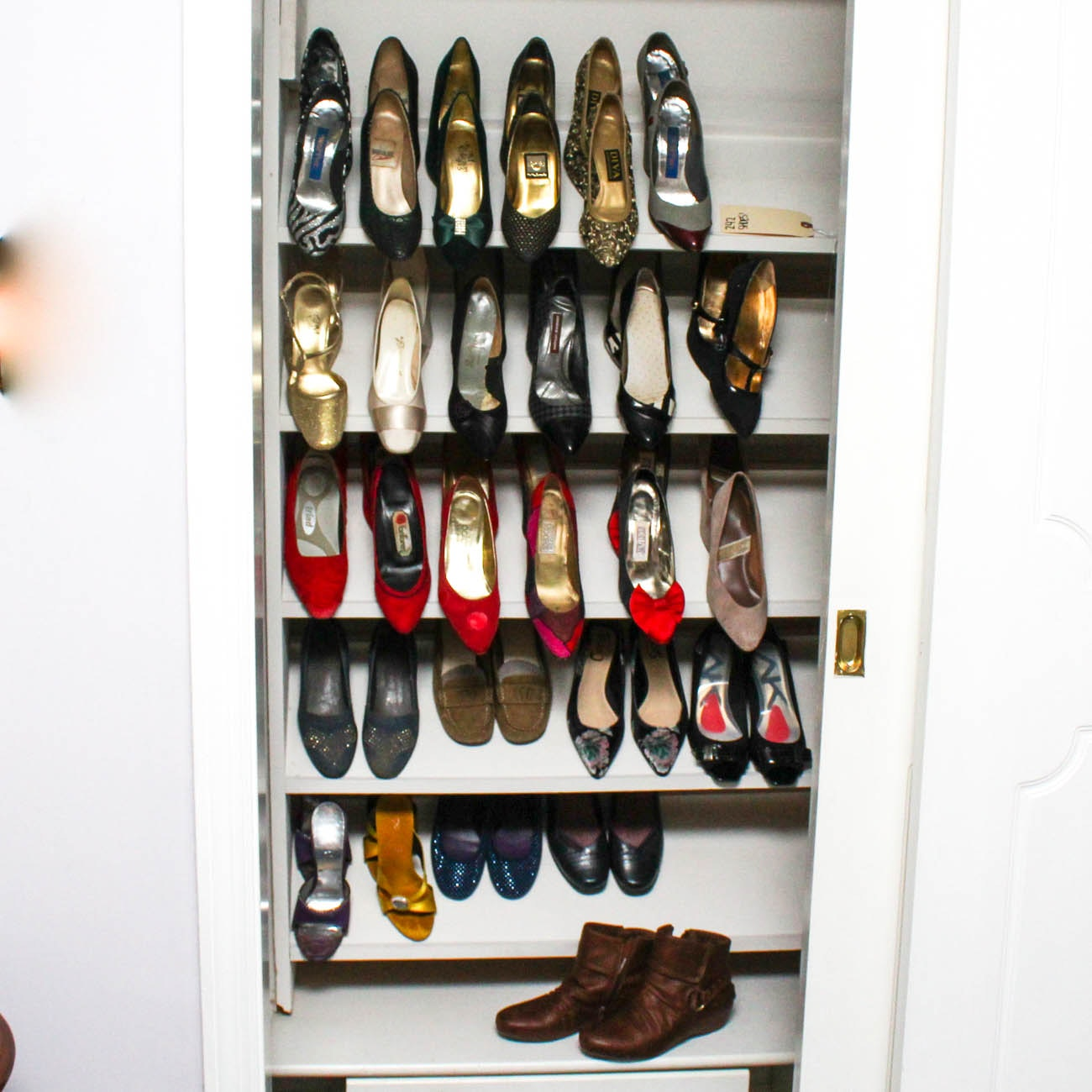 Collection of Women's Heels Featuring Coach, Jennifer Moore and Nina