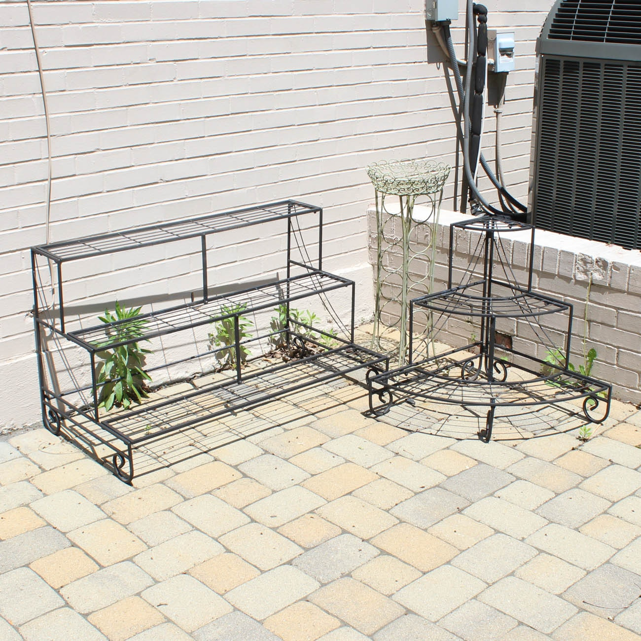 Assorted Metal Plant Stands