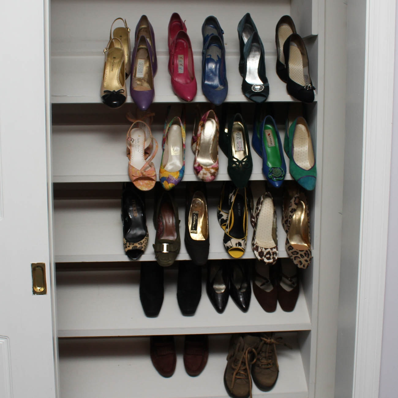 Collection of Women's Heels Including Jennifer Moore and Naturalizer