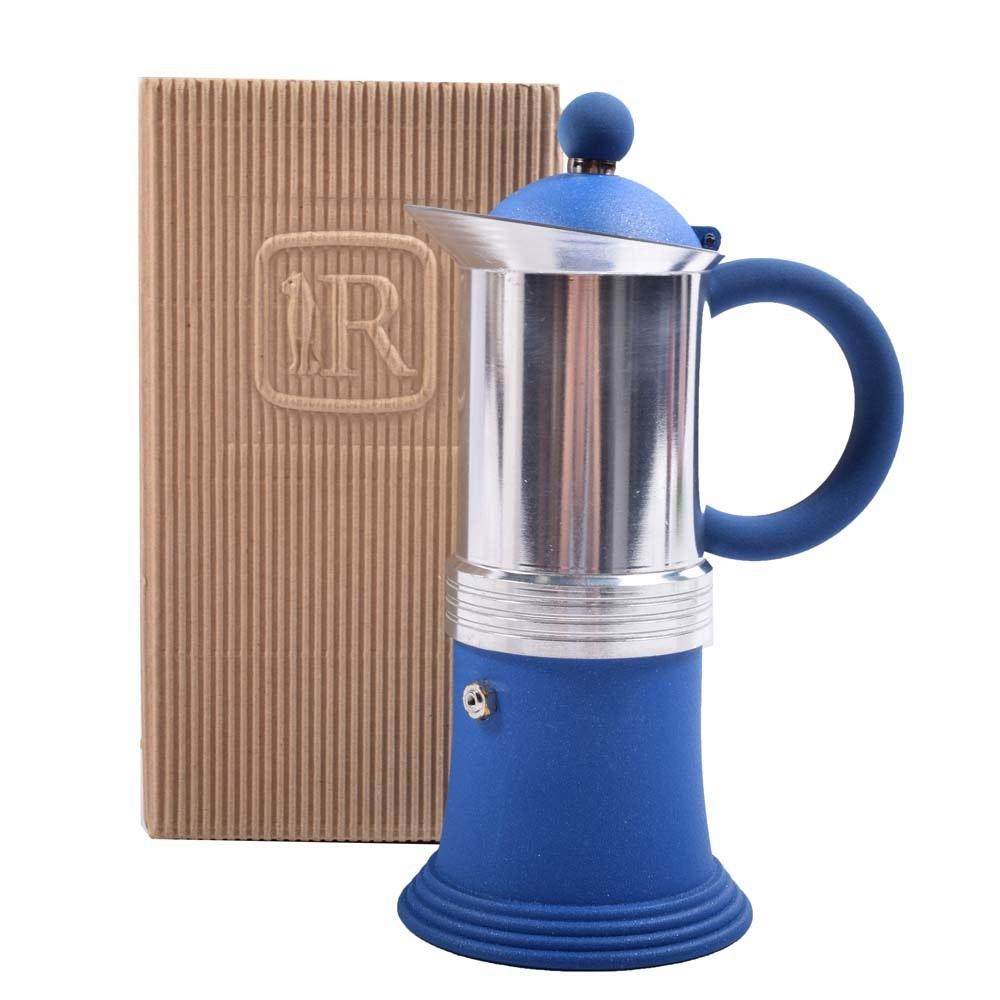 Aluminum Egizia Coffee Maker by Regina