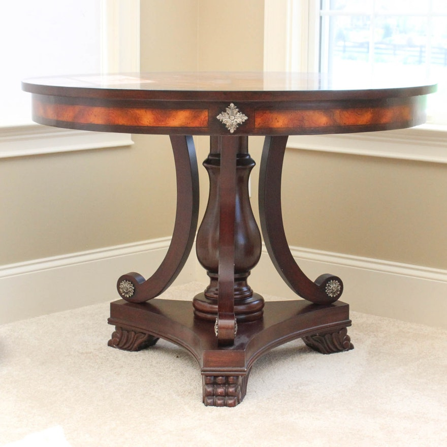 Orleans Round Foyer Table