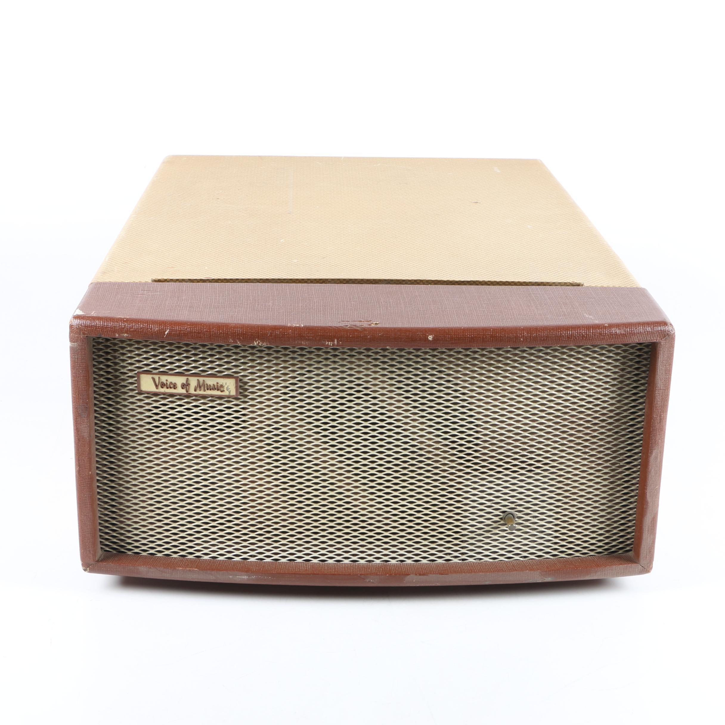 Vintage Voice of Music High Fidelity Phonograph Radio