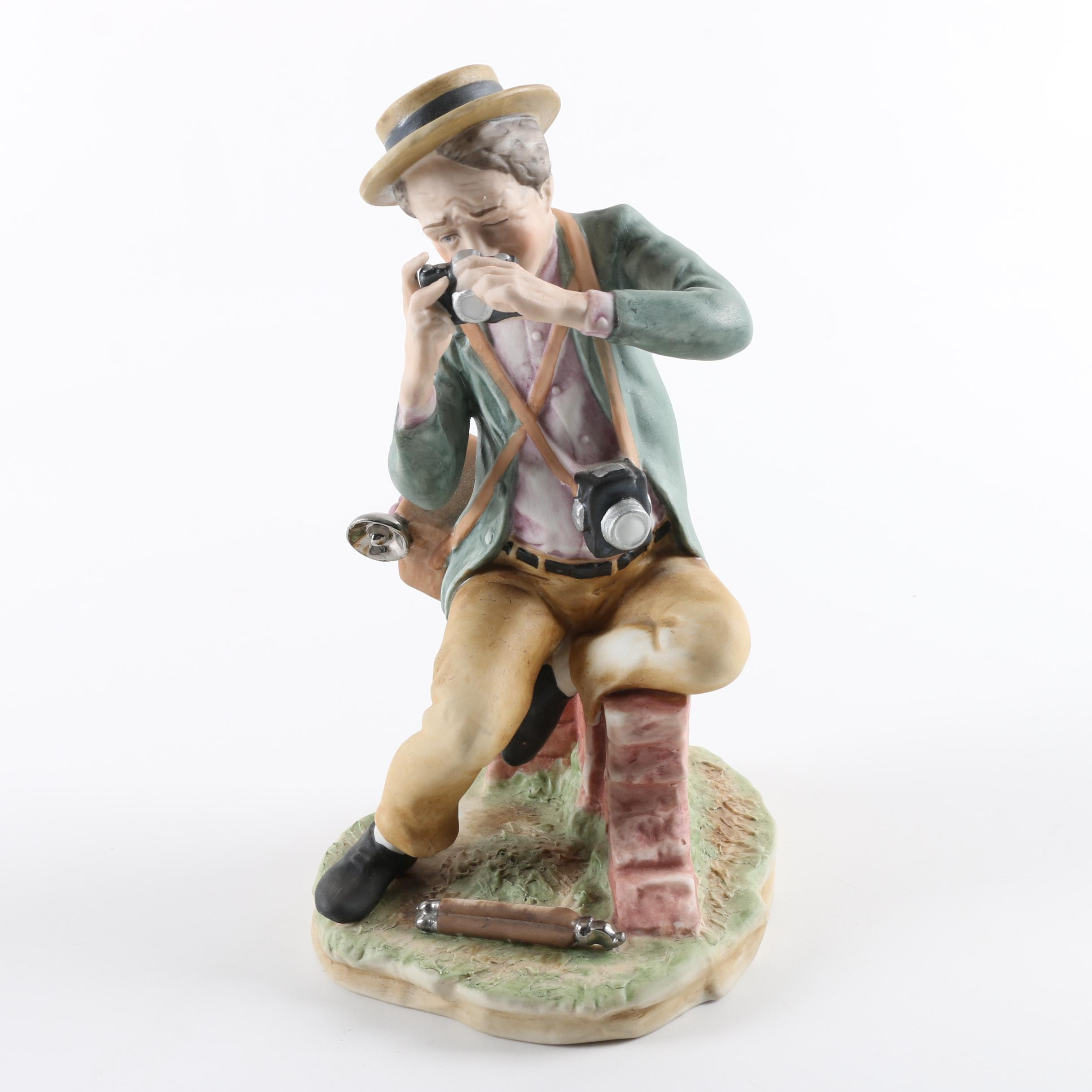 Vintage Shutterbugs by Pucci Ceramic Figurine