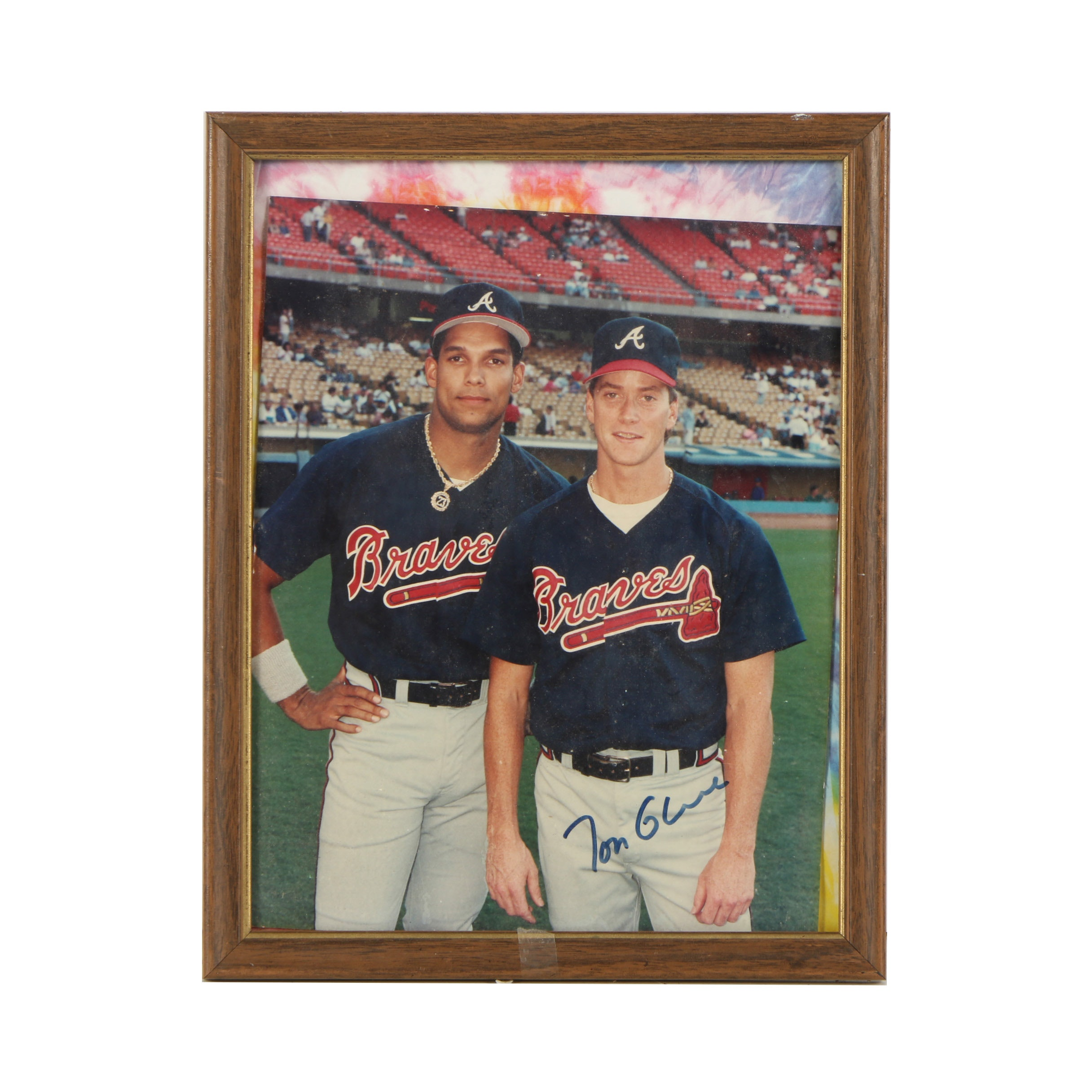 Autographed Photograph of Tom Glavine