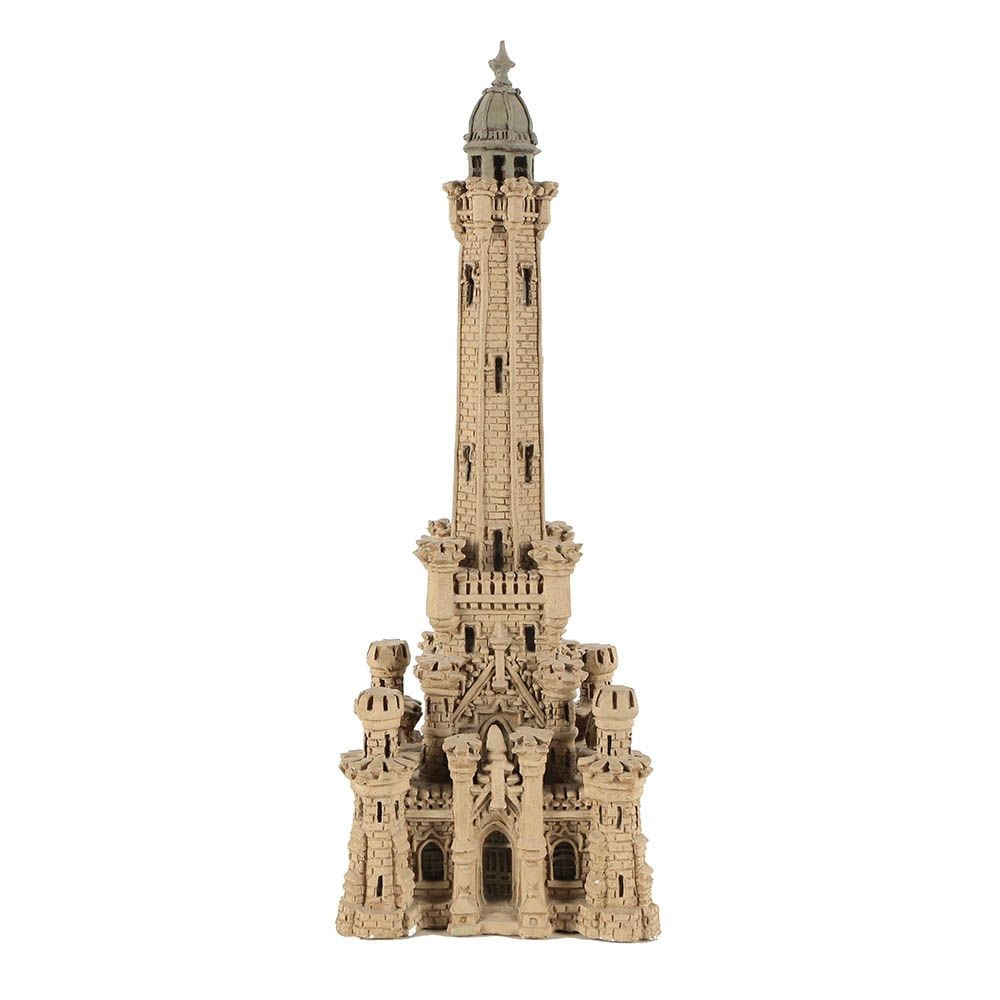 Plaster Sculpture of the Chicago Water Tower by Zany Jacobsen