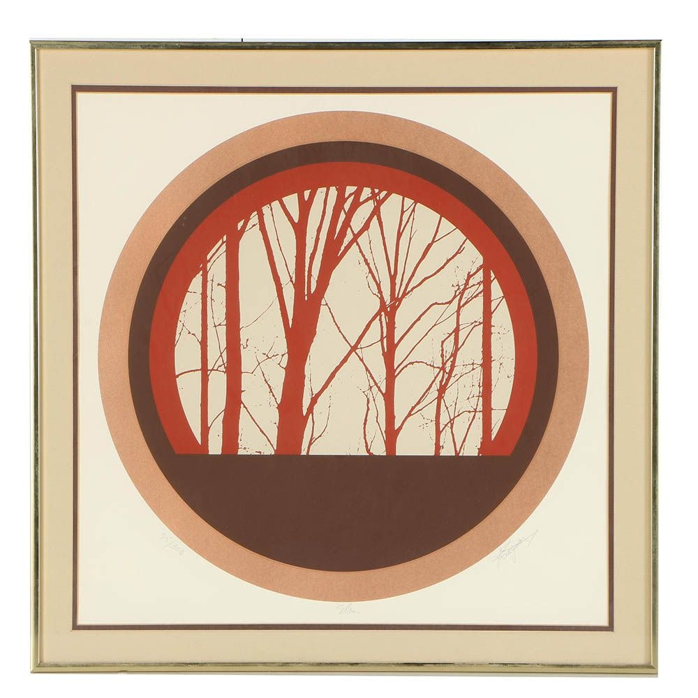 "Limited Edition Serigraph ""Elm"""