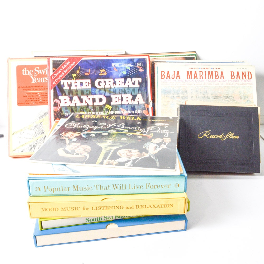 Big Band, World, and Easy Listening Records