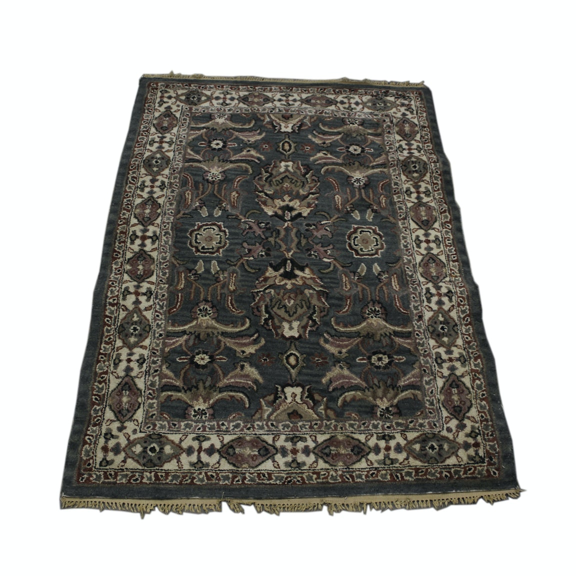 Hand-Tufted Indian Area Rug
