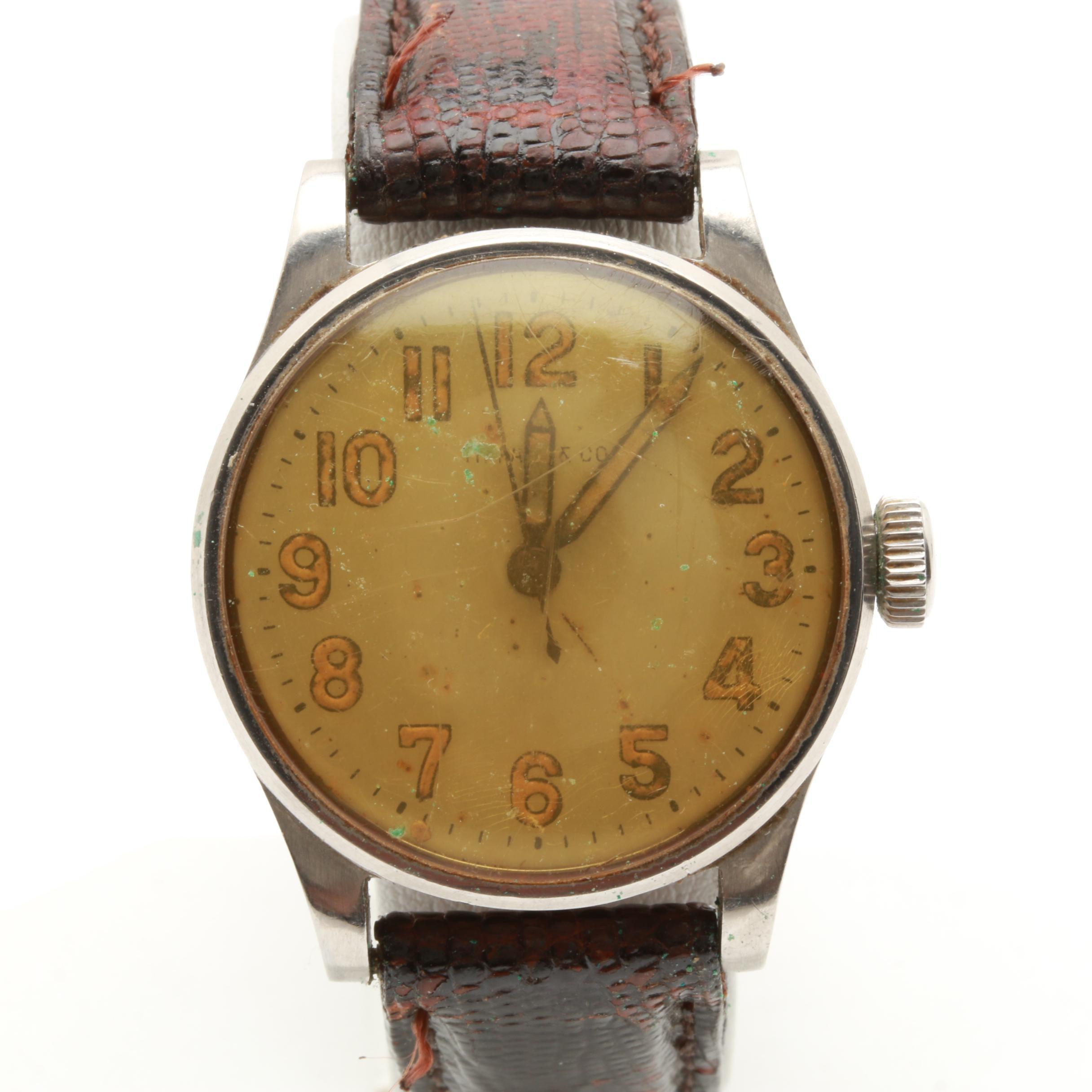 Tiffany & Co. Stainless Steel Analog Wristwatch