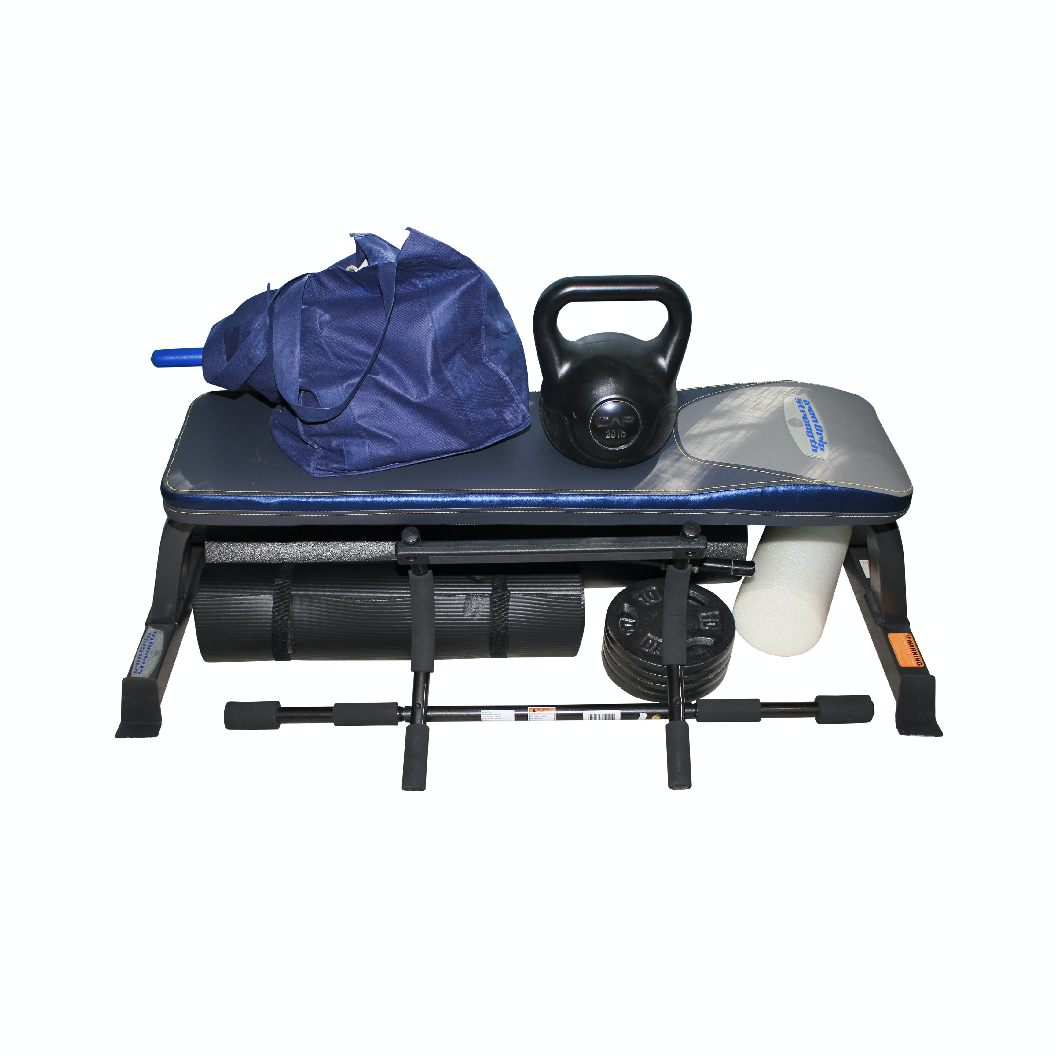 Iron Grip Strength Weight Bench and Other Fitness Gear