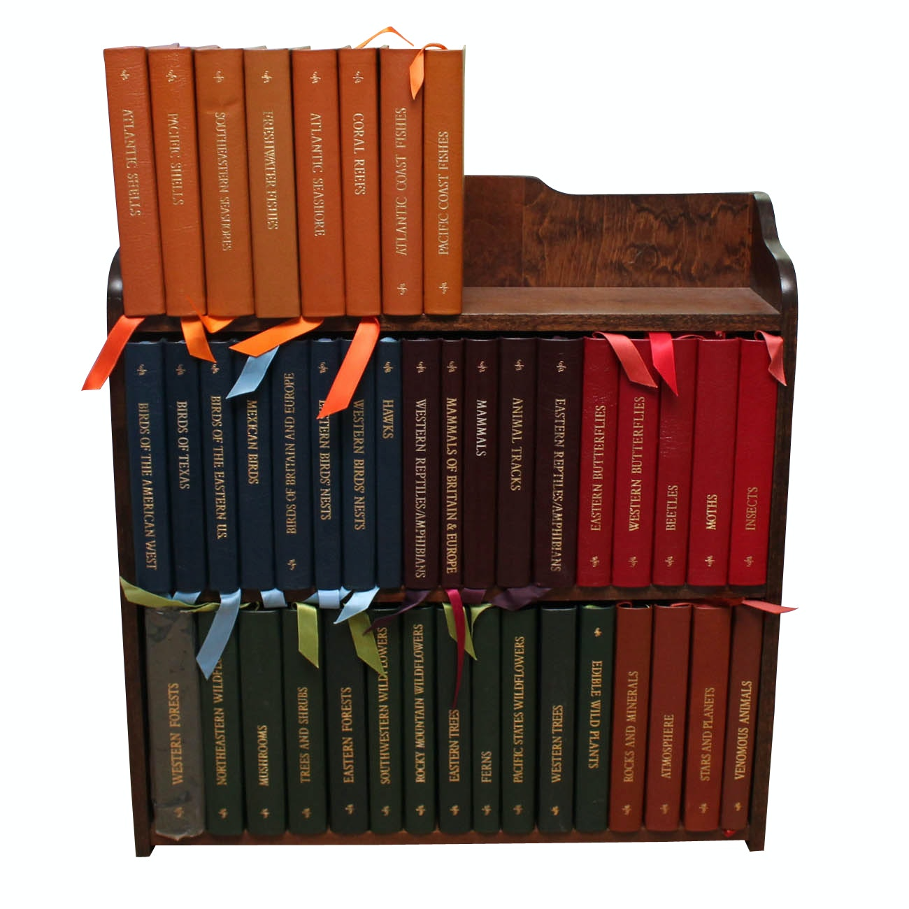 """Vintage Easton Press """"Roger Tory Peterson Field Guides"""" Collection"""
