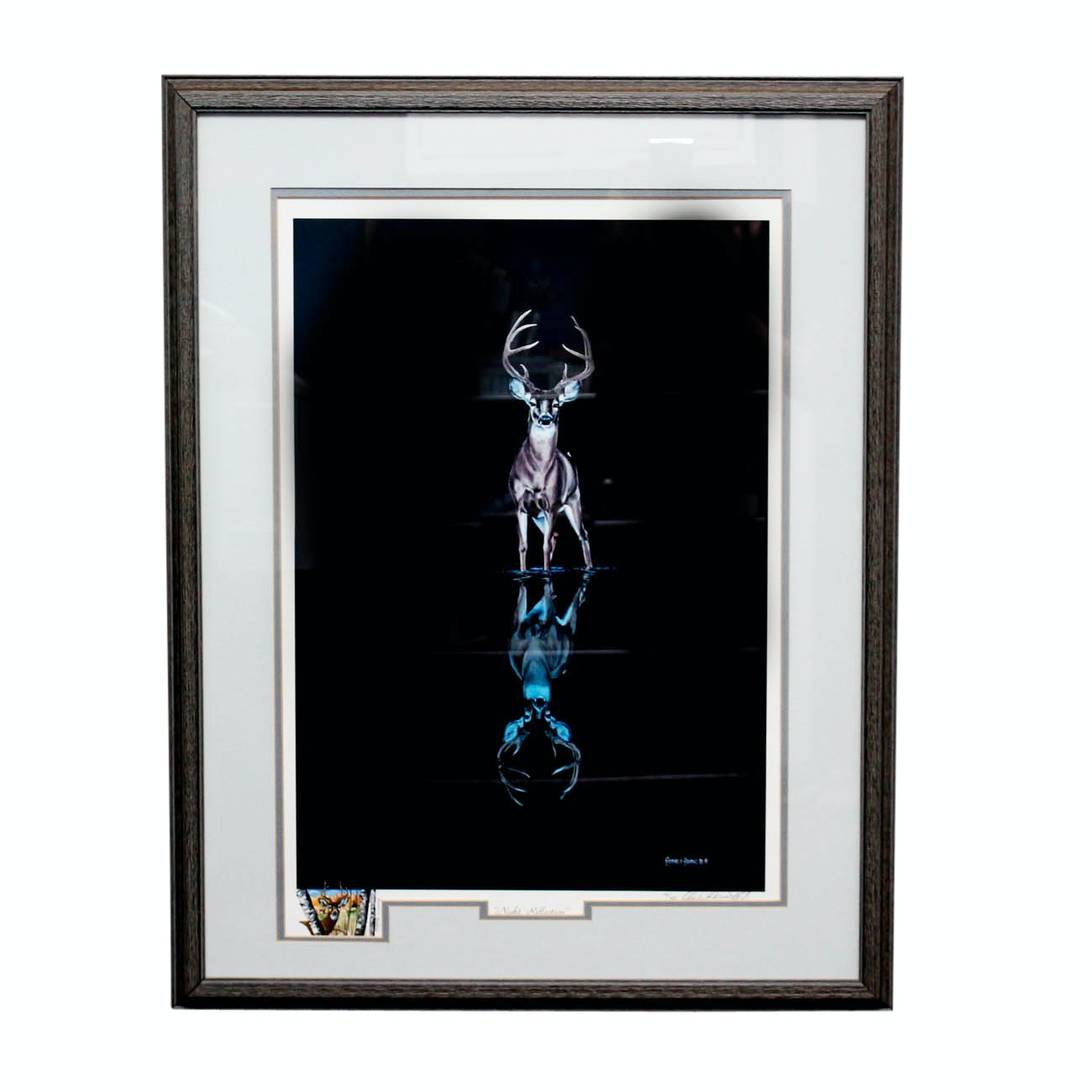 "Charles H. Denault Limited Edition ""Night Reflection"" Giclee Print"