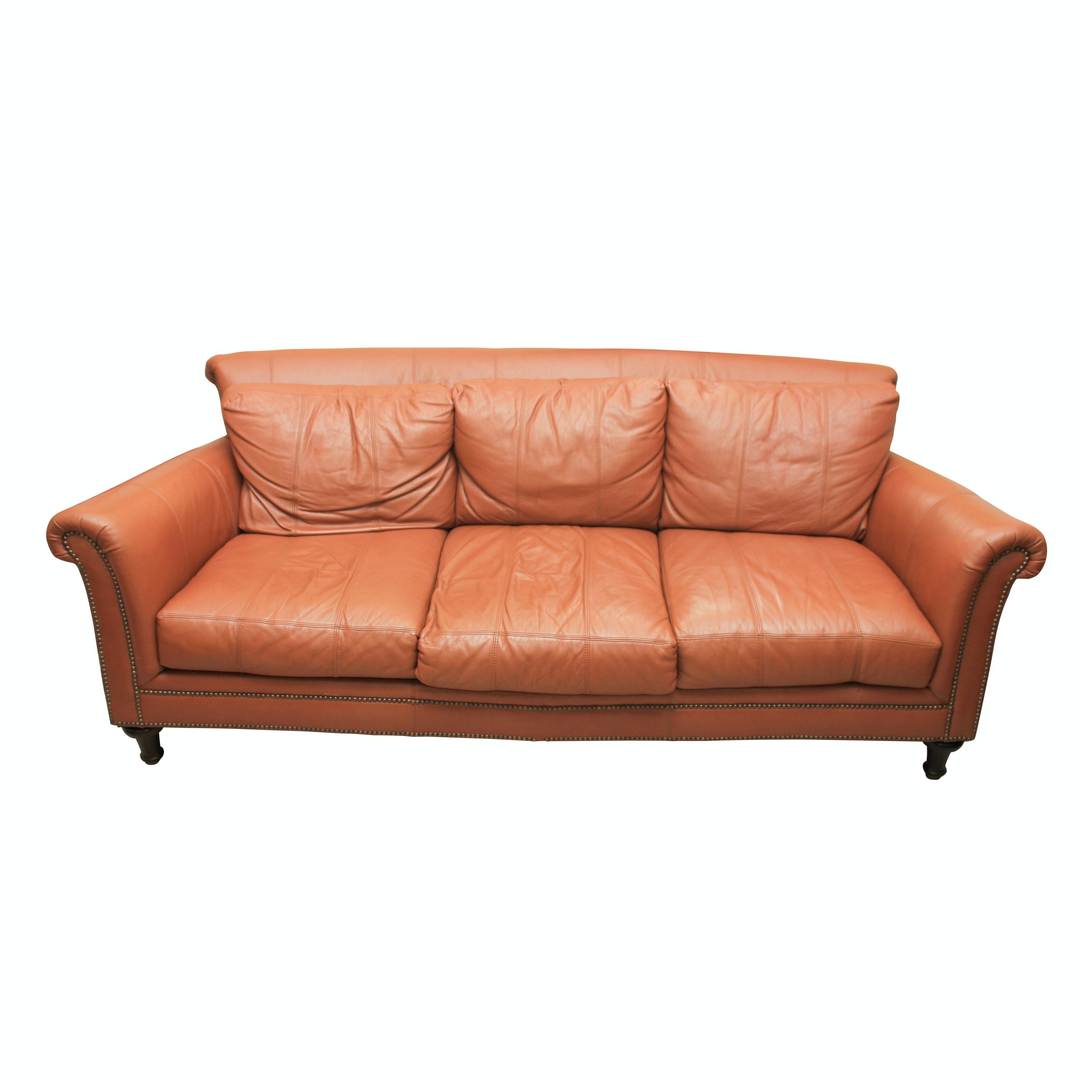 Ferguson Copeland Leather Sofa ...