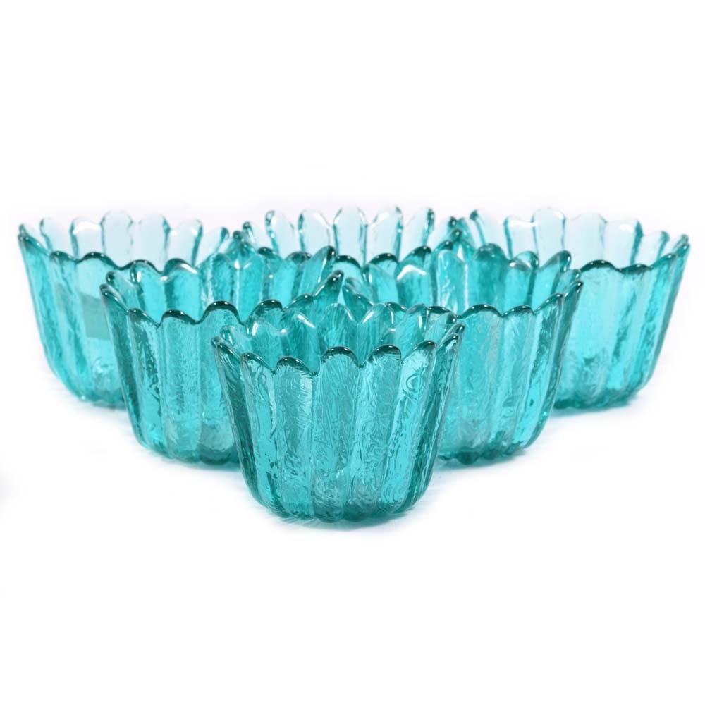 Fenton Art Glass Candle Votives